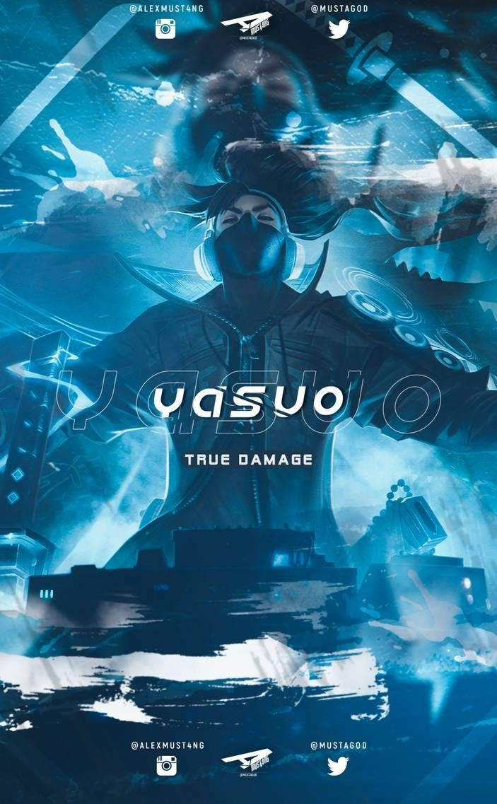 True Damage Yasuo Wallpapers Wallpaper Cave