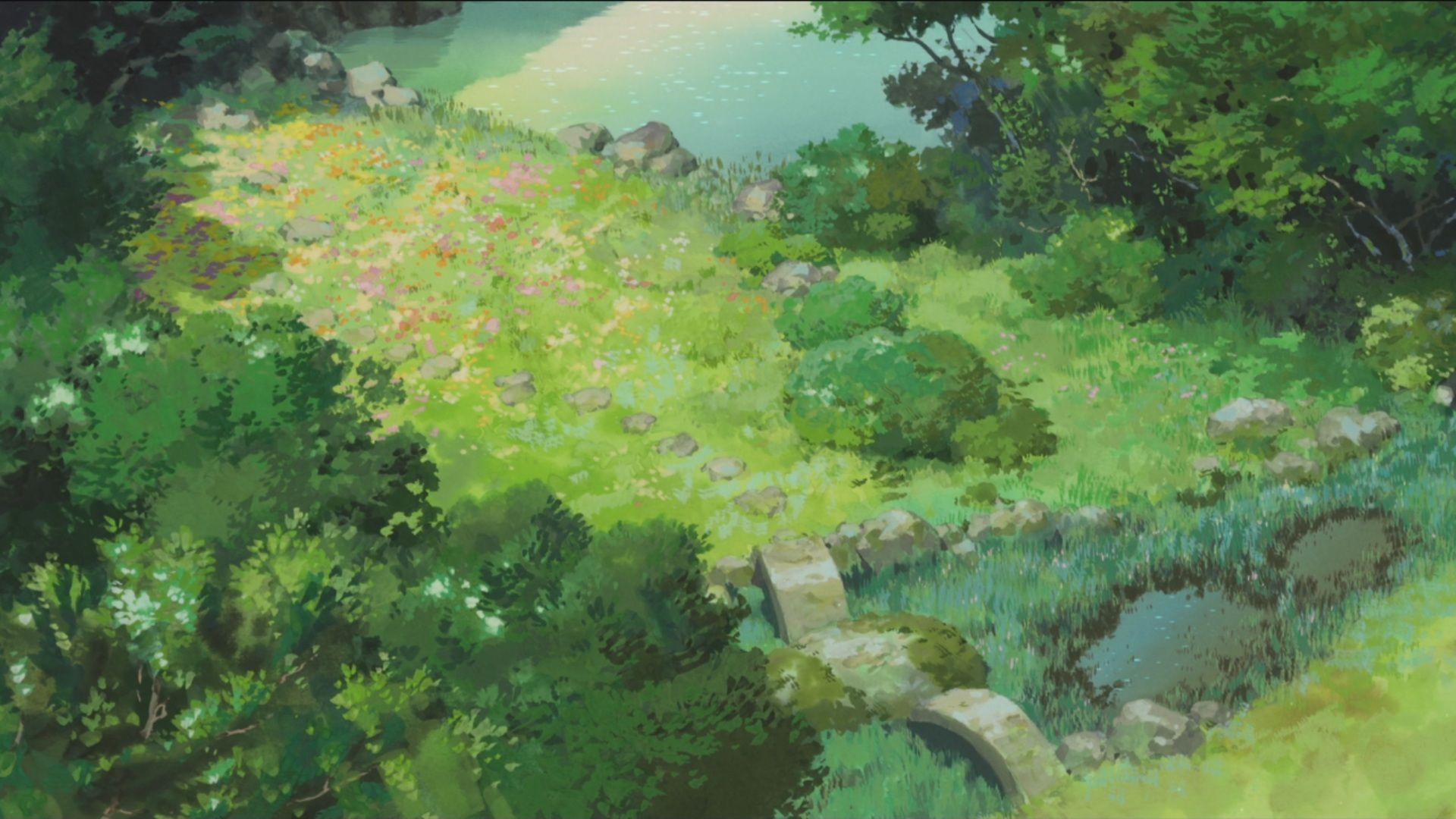 Anime Forest Wallpapers ,