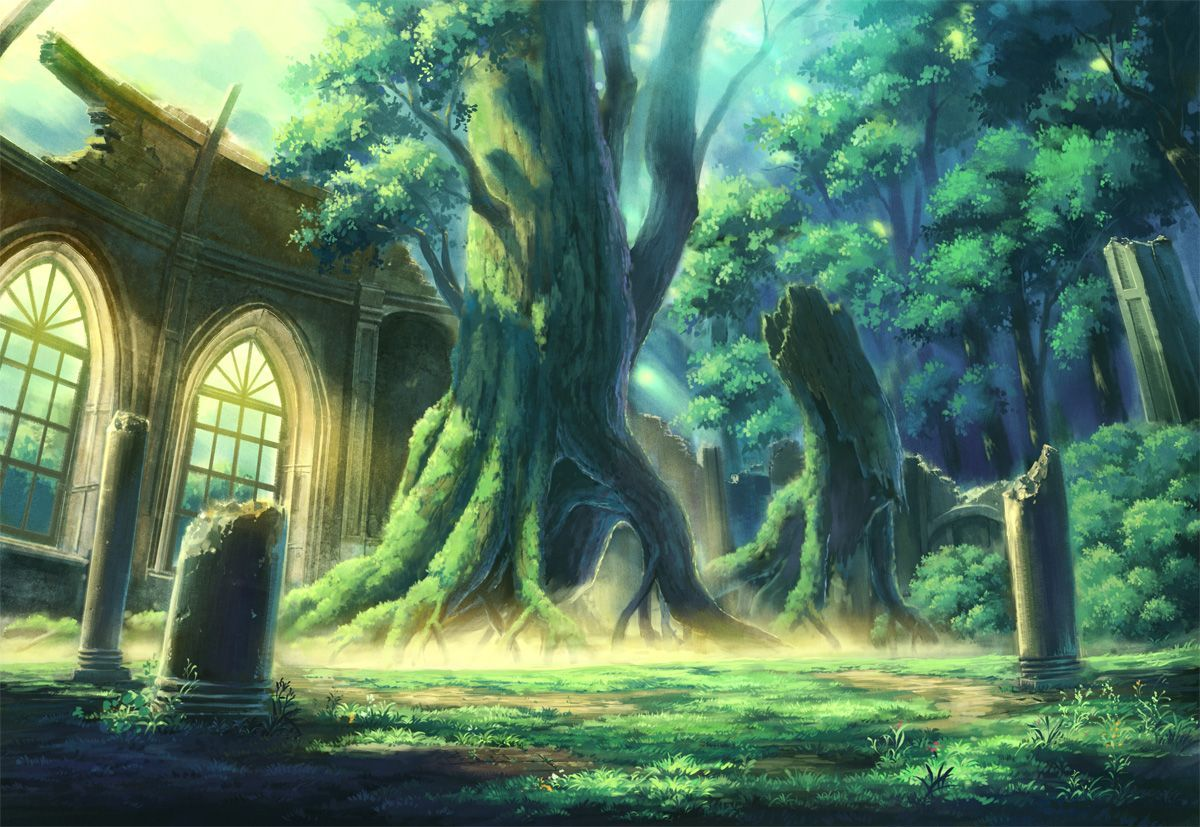 Forest Anime Wallpapers - Wallpaper Cave