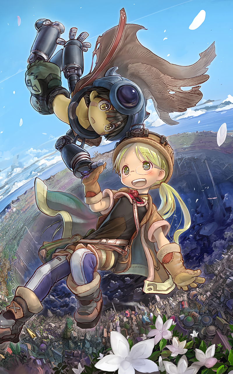 Made In Abyss Mobile Wallpapers Wallpaper Cave