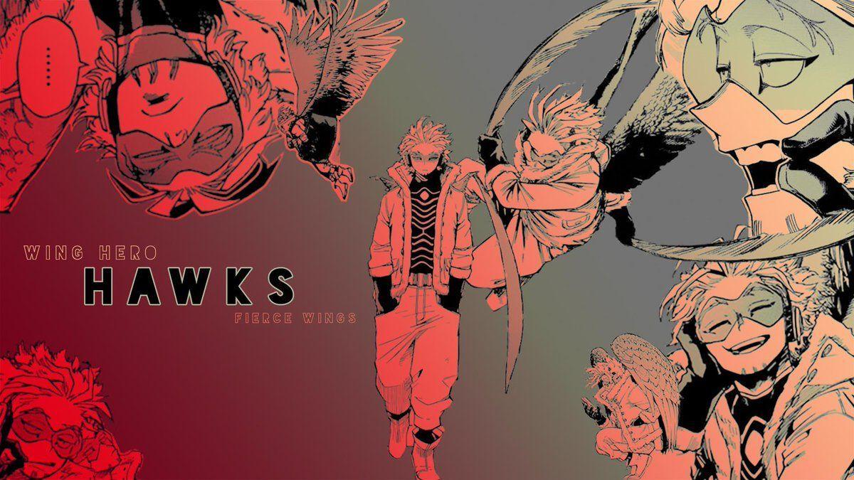 Hawks Computer Mha Wallpapers Wallpaper Cave