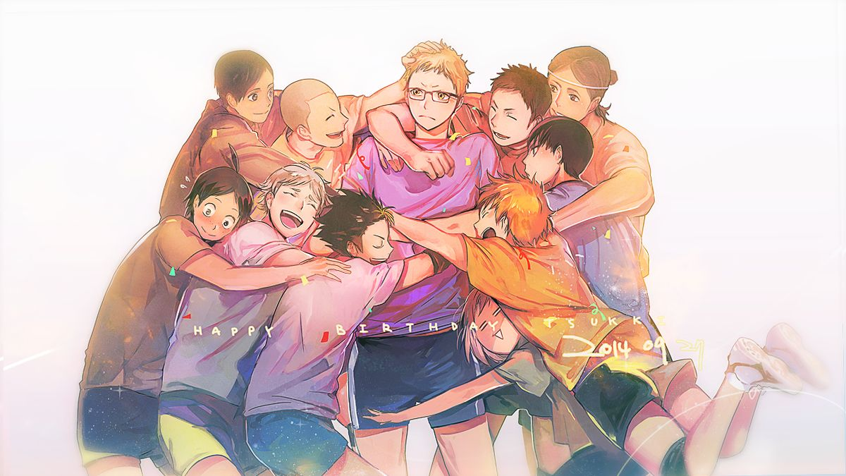 Cute Haikyuu Desktop Wallpapers Wallpaper Cave