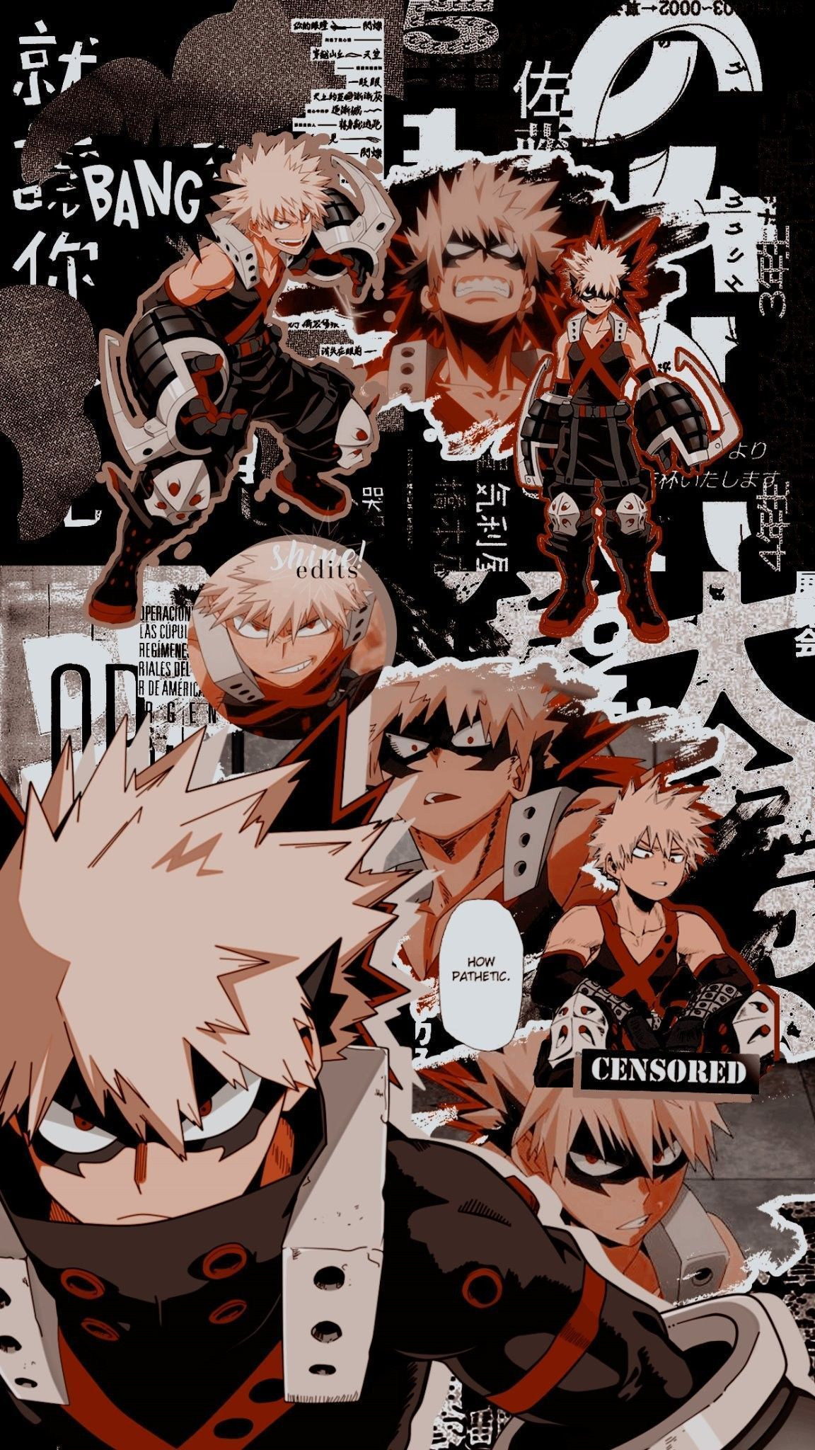Aesthetic Anime Wallpapers Bakugou Anime Wallpaper Hd