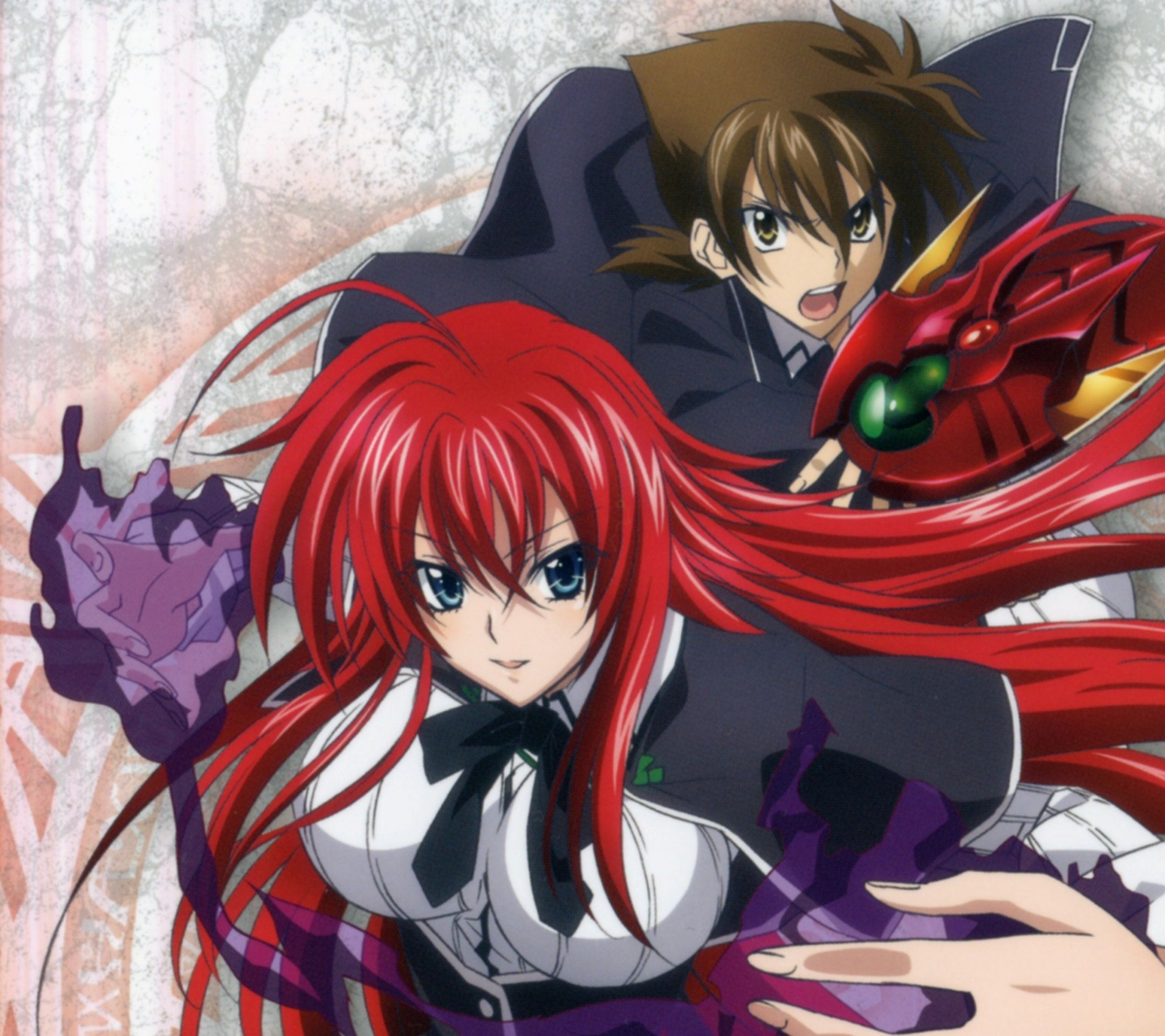 Anime High School DxD Rias Wallpapers - Wallpaper Cave