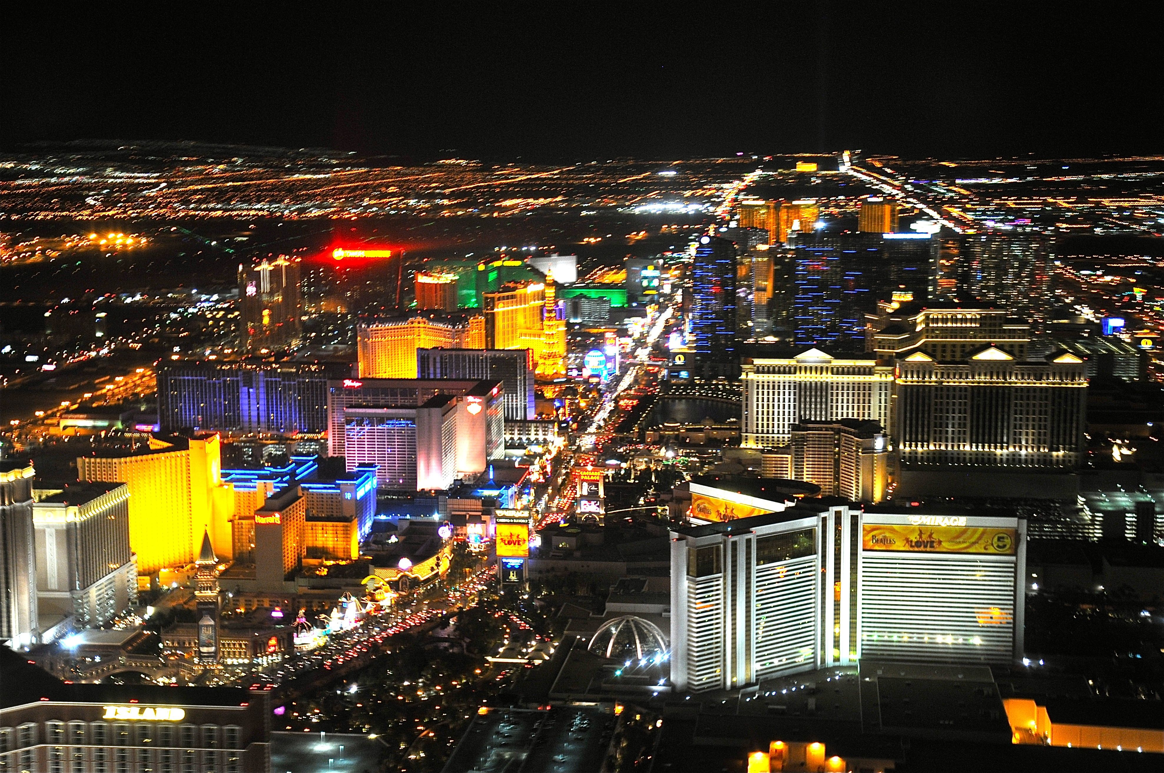 Las Vegas Strip Desktop Wallpapers Wallpaper Cave