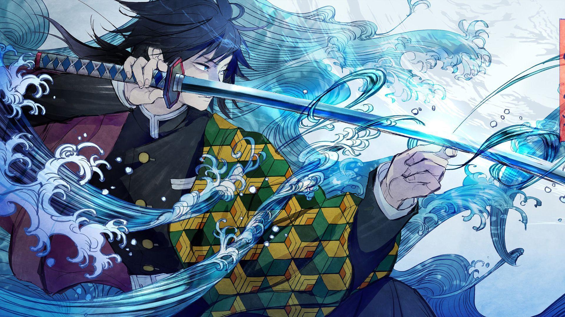 Anime Kimetsu No Yaiba Giyu Wallpapers Wallpaper Cave