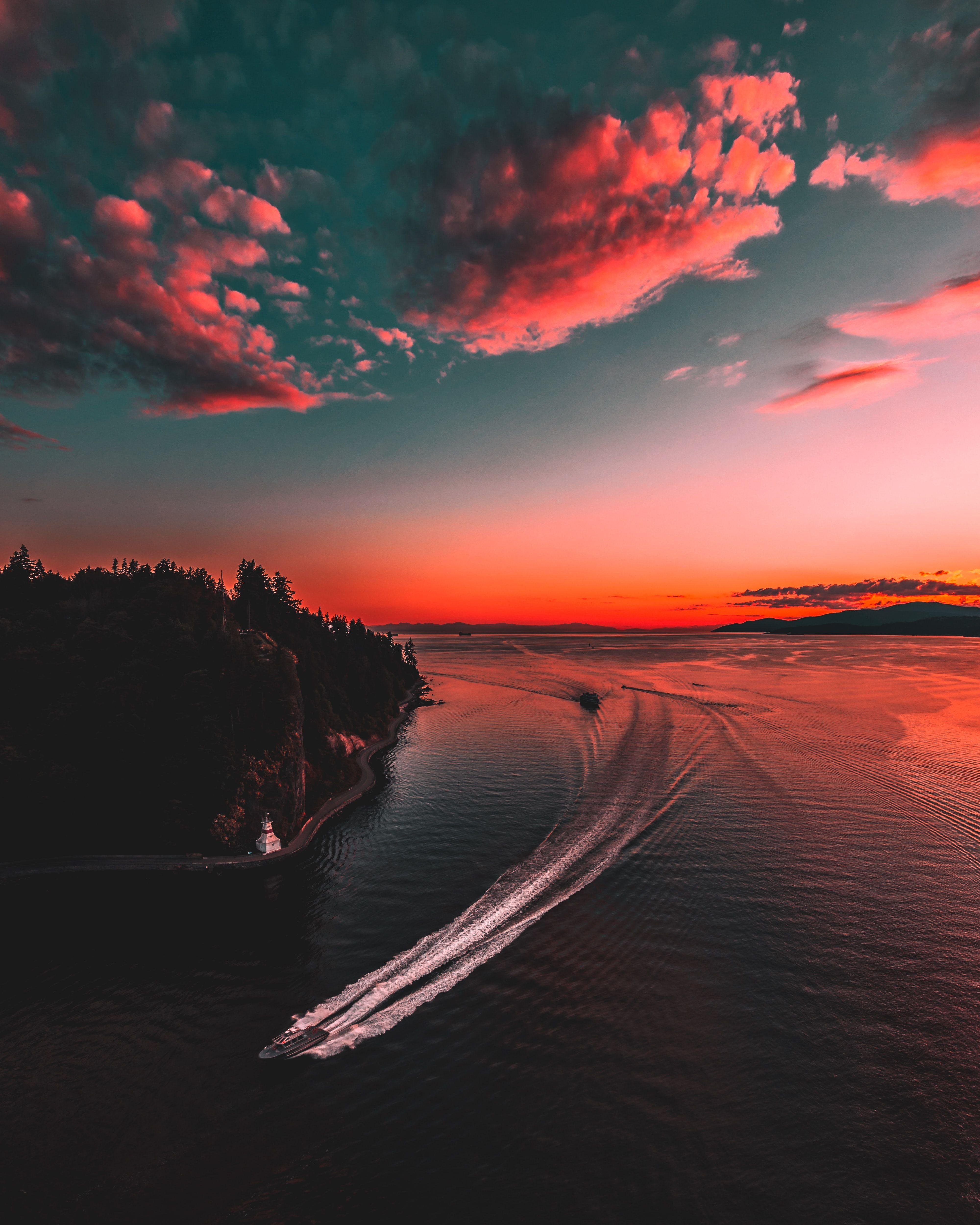 sunset aesthetic 4k wallpapers
