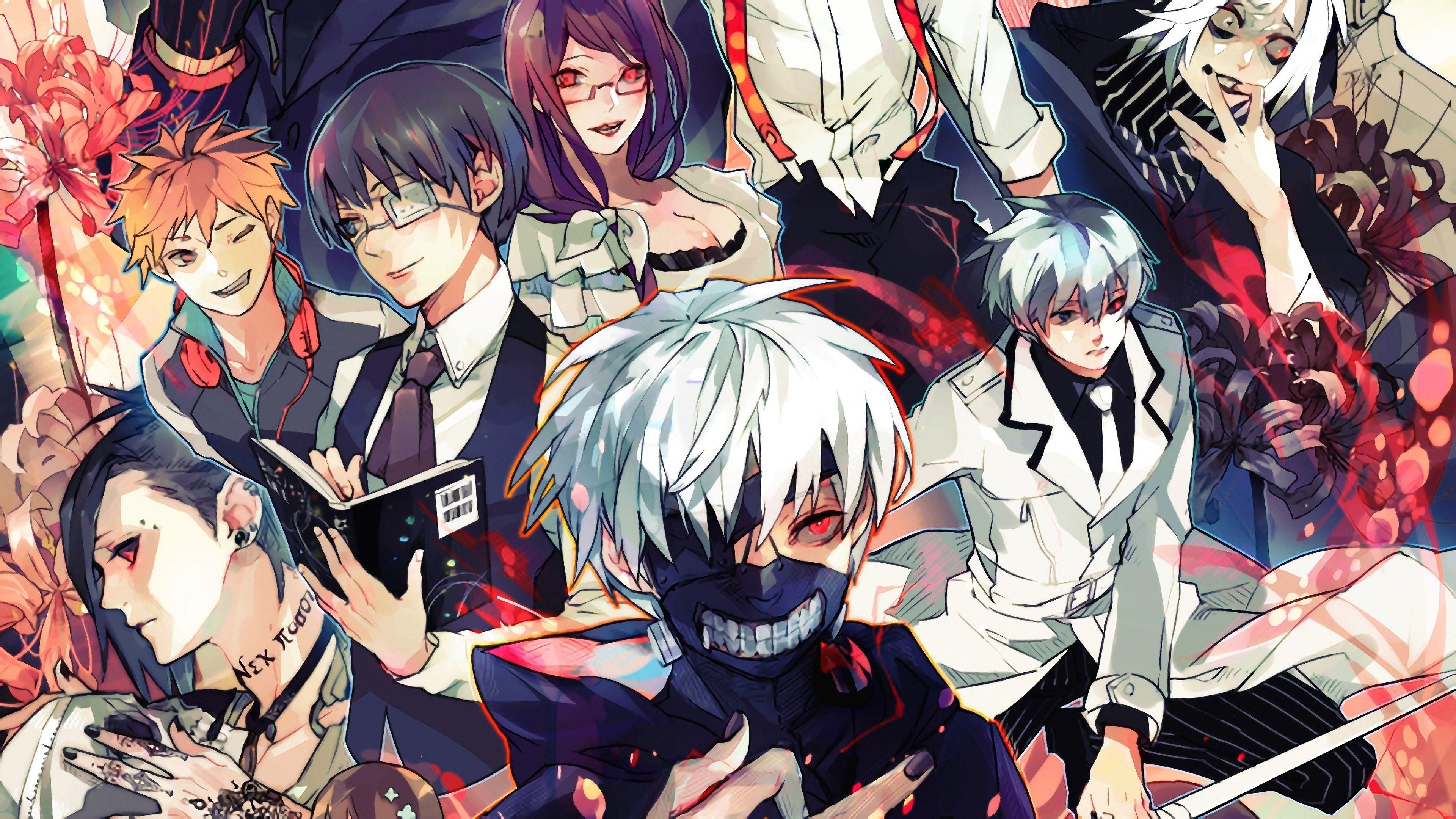 Anime Tokyo Ghoul Kaneki Ps4 Wallpapers - Wallpaper Cave