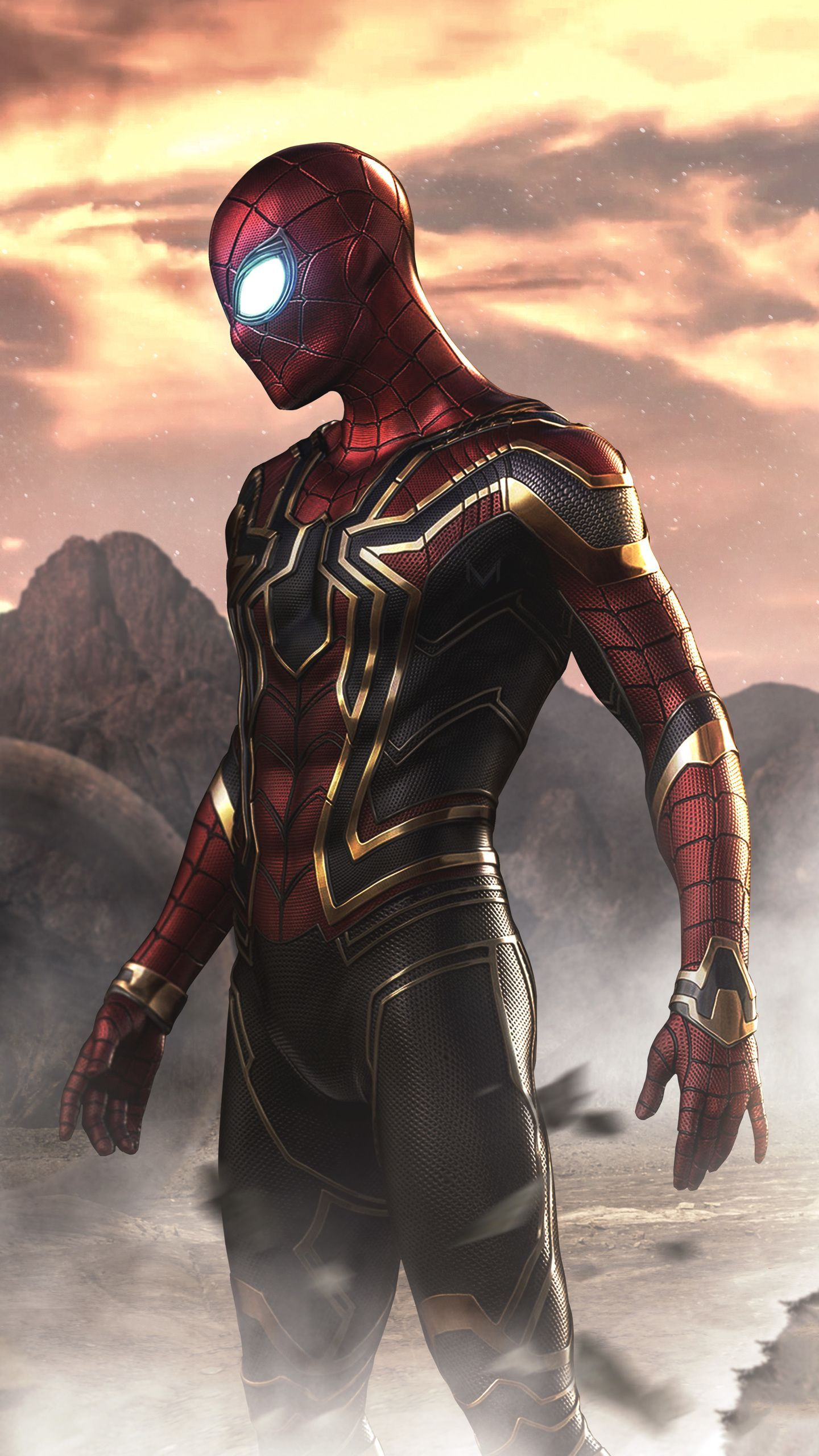 iPhone Full HD Iron Spider Endgame Wallpapers - Wallpaper Cave
