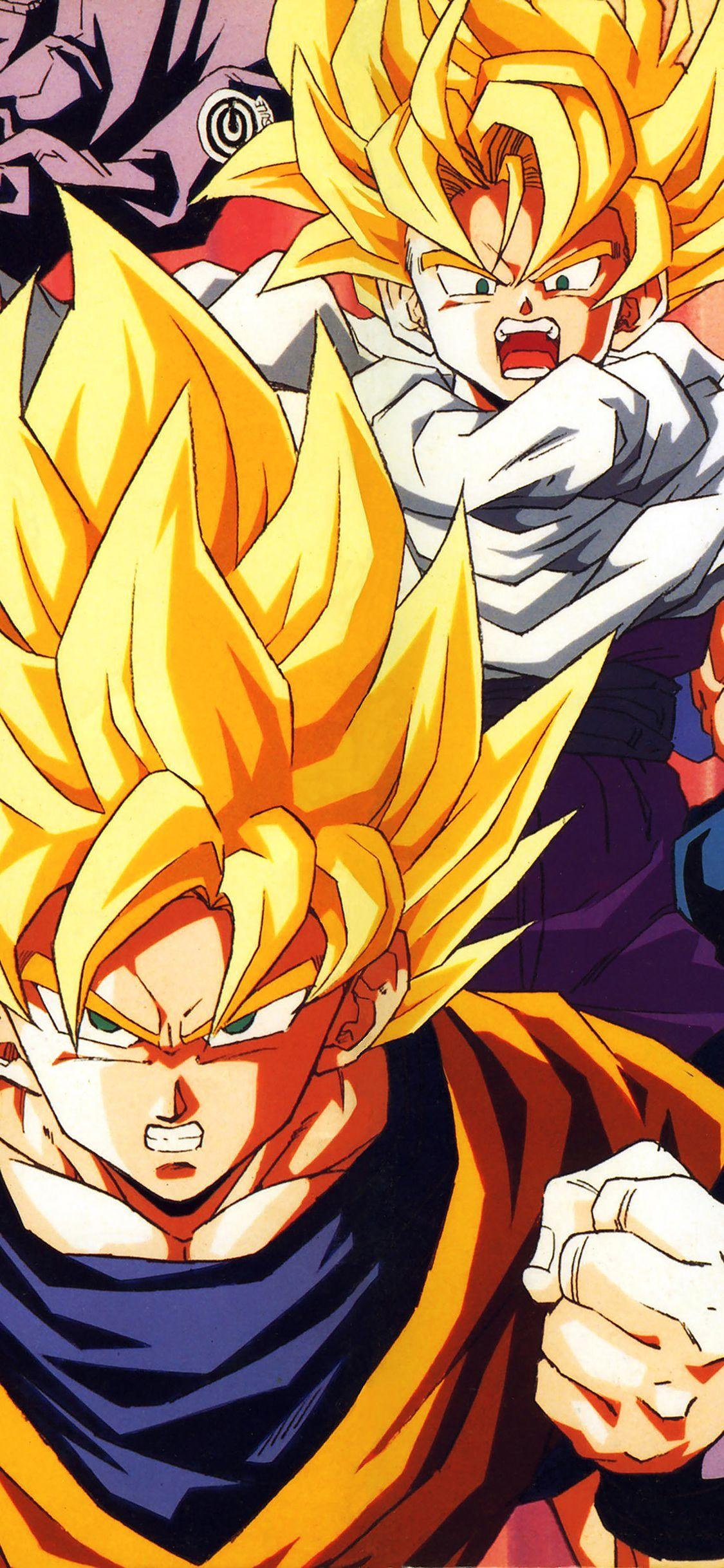 Goku Iphone 11 Wallpapers Wallpaper Cave