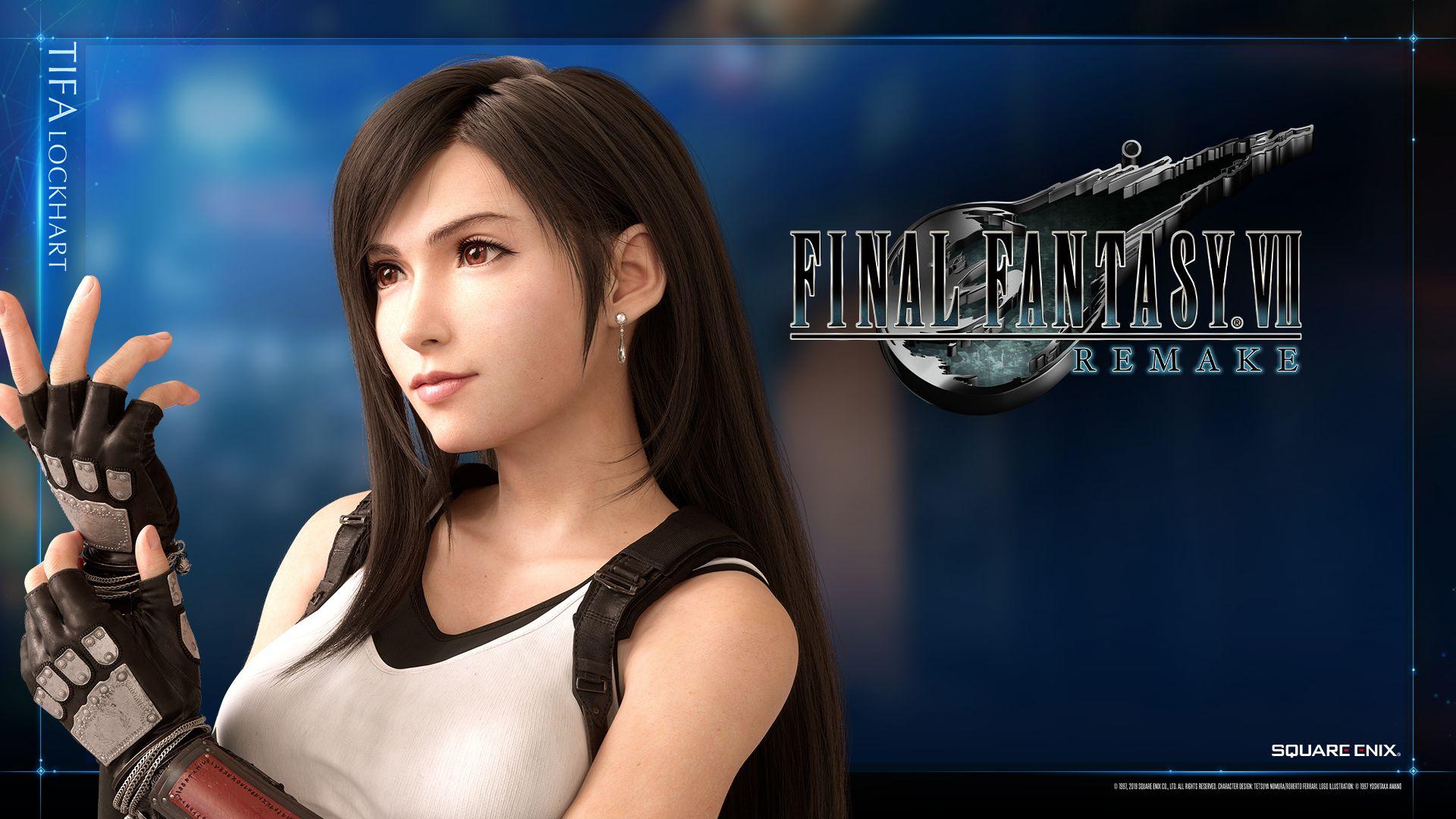 Tifa Final Fantasy 7 Remake Wallpapers Wallpaper Cave