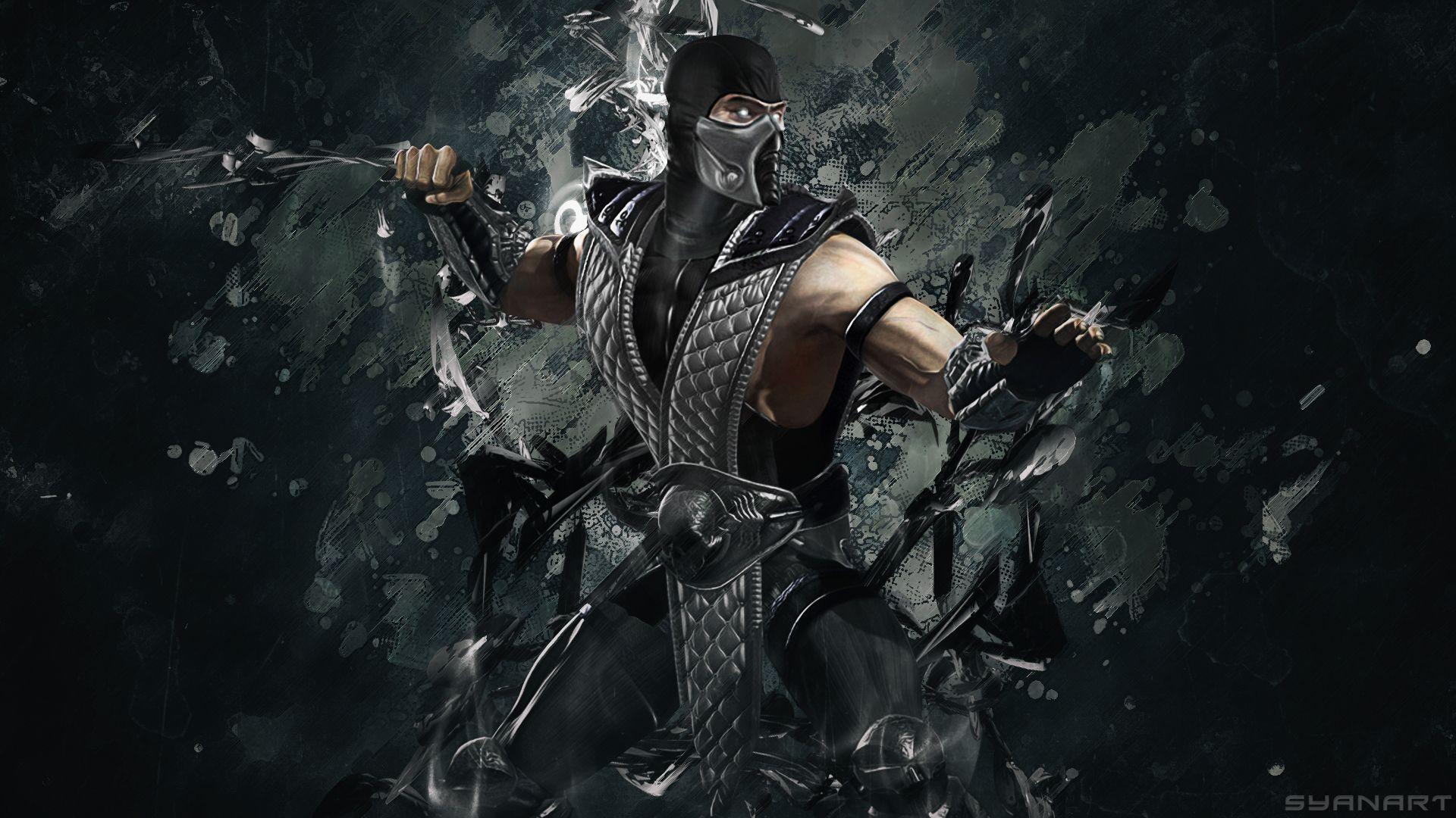 Smoke Mortal Kombat Wallpapers - Wallpaper Cave