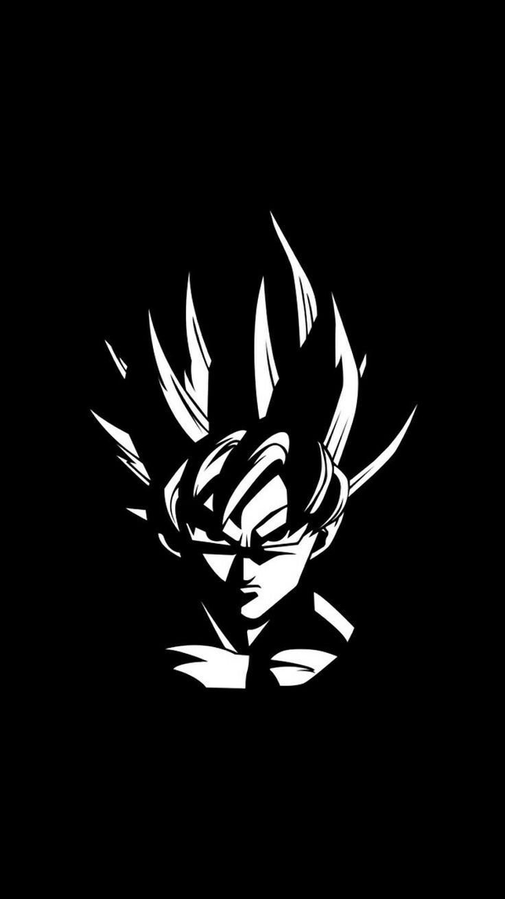 Dragon Ball Z Hd Mobile Black And White Wallpapers Wallpaper Cave