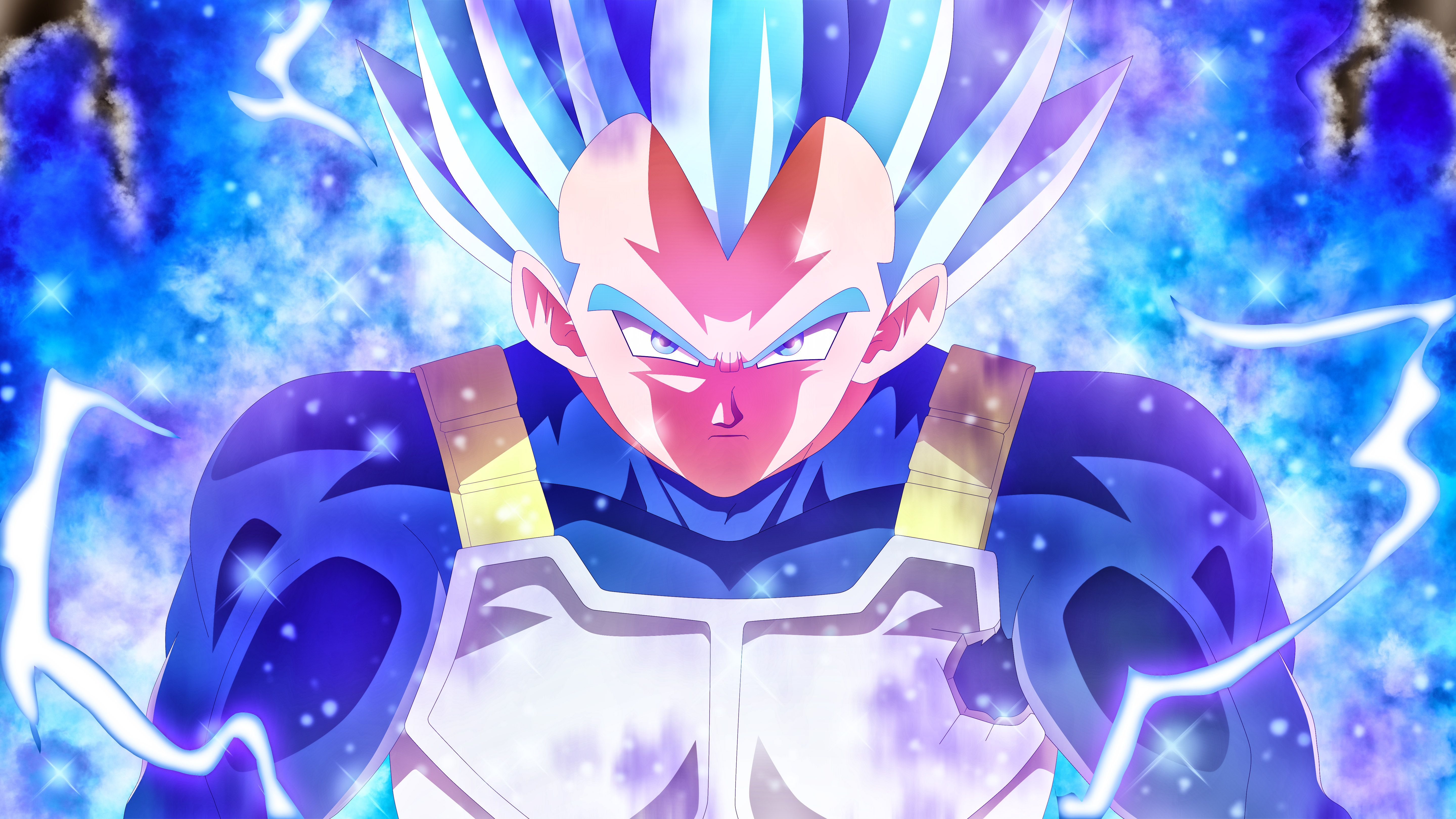 Vegeta Blue 5k Anime, HD Anime, 4k Wallpapers, Image, Backgrounds