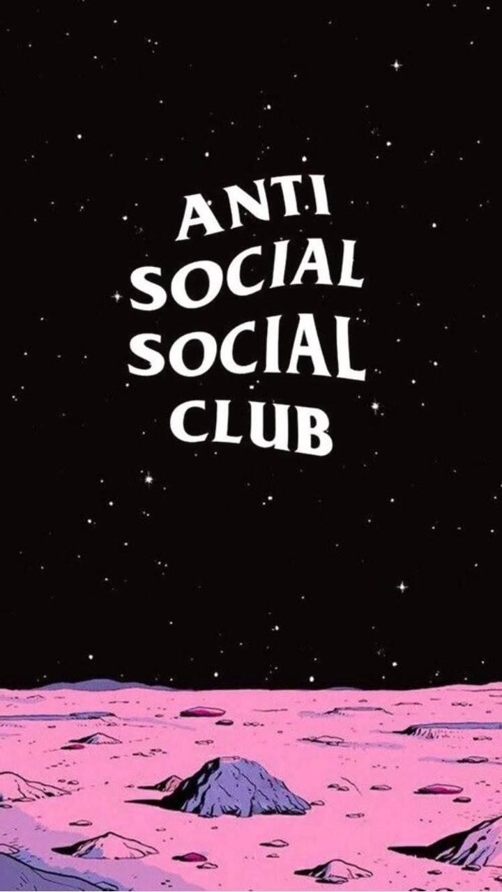 Anti Social Social Club Aesthetic Wallpapers Wallpaper Cave