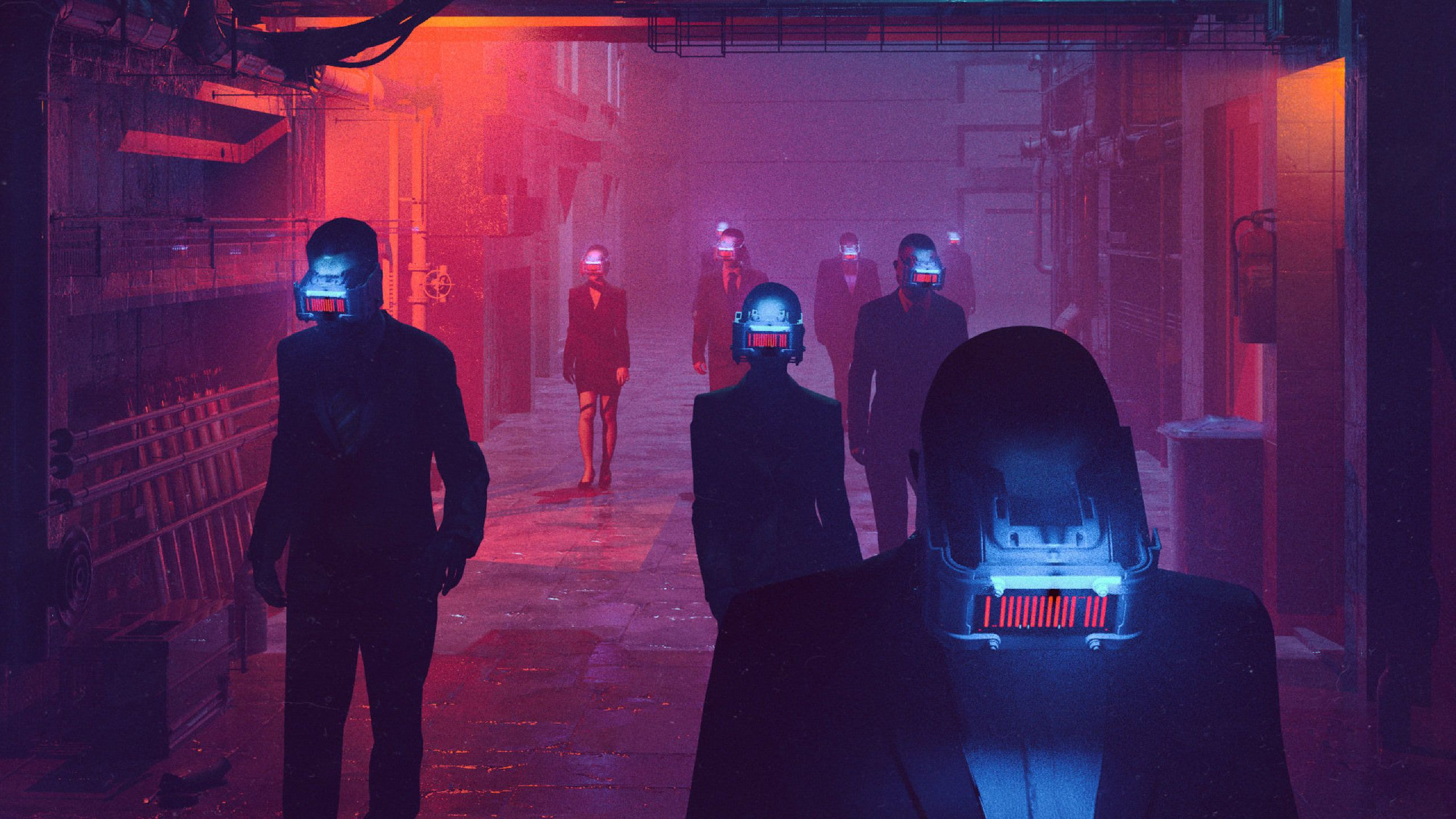 Anime Neon City Wallpapers Wallpaper Cave
