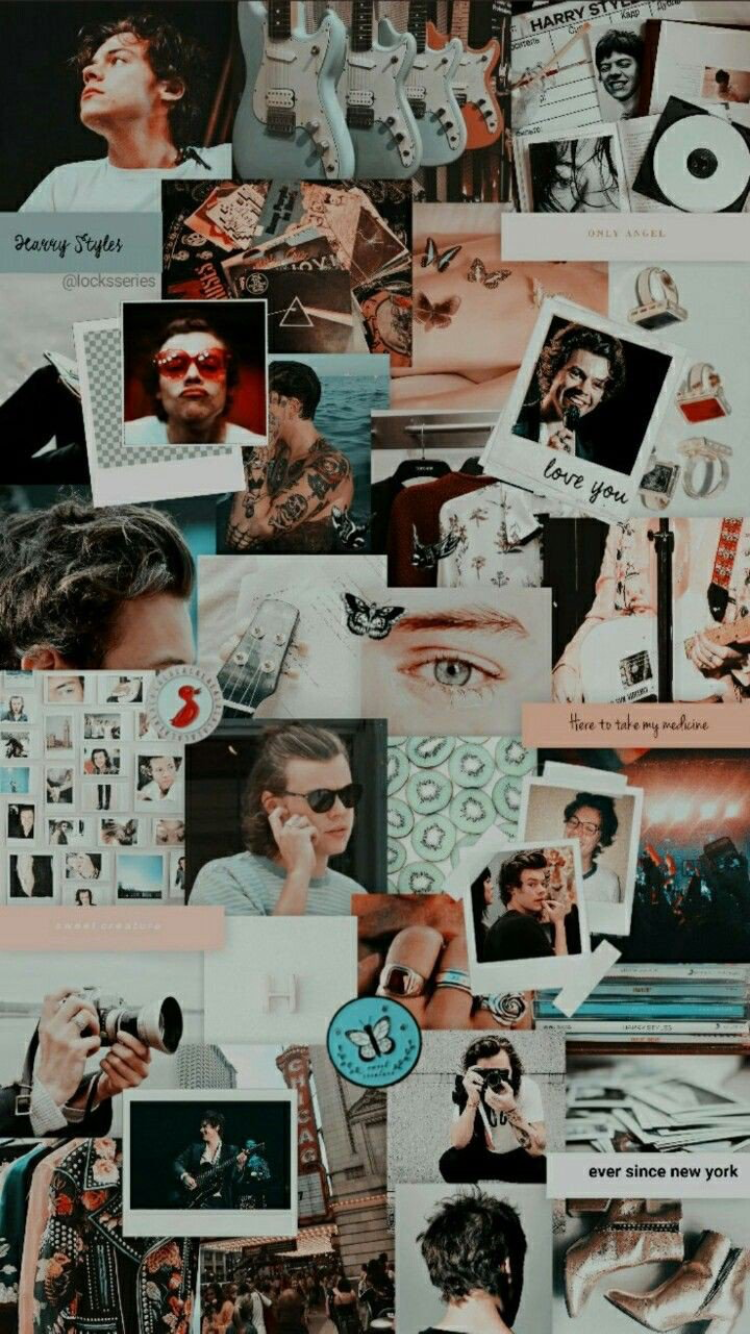 Harry styles wallpapers iphone by kami✨ on wallpapers