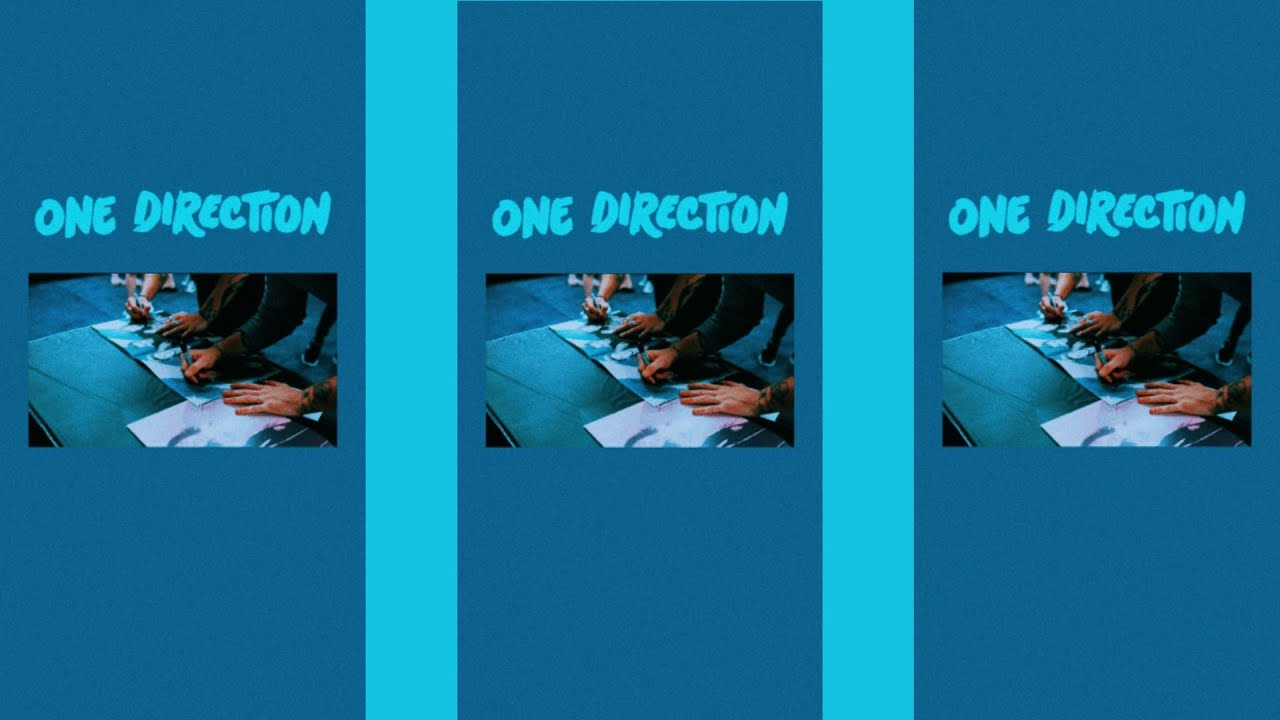Blue One Direction wallpapers tutorial