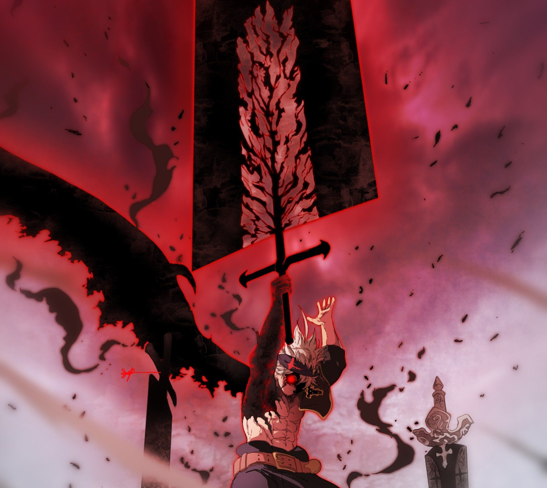 Aesthetic Pc Black Clover Wallpapers Wallpaper Cave