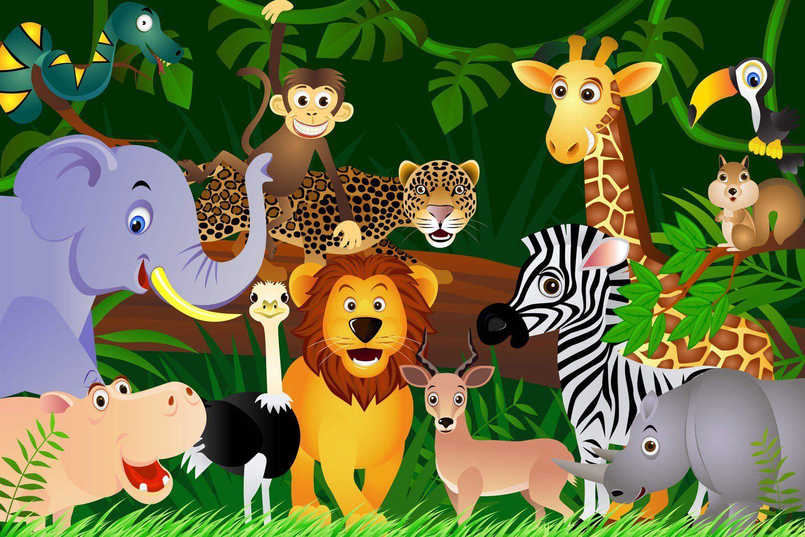 Jungle Animals Wallpapers - Wallpaper Cave