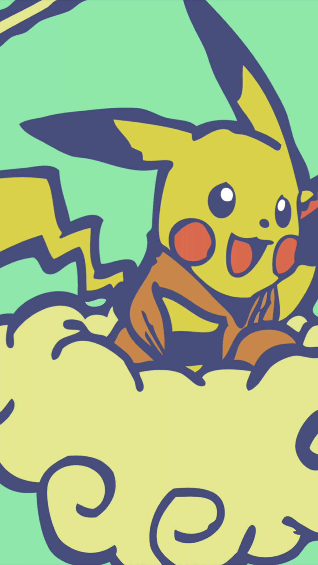 Pikachu Aesthetic Wallpapers - Wallpaper Cave