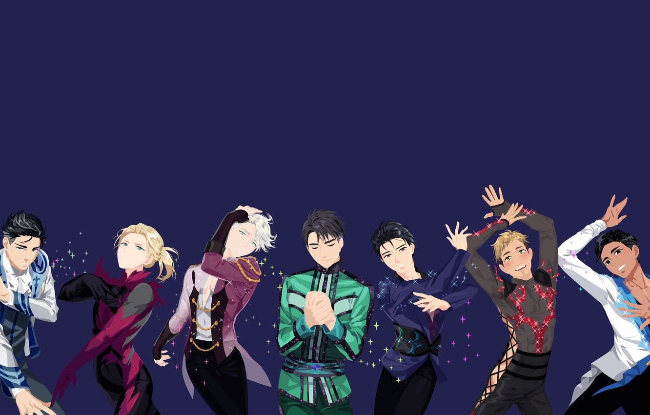 Anime Yuri On Ice Wallpapers Wallpaper Cave
