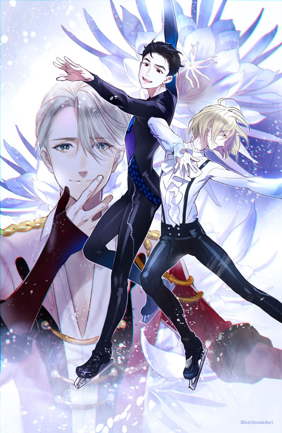 Anime Yuri On Ice Wallpapers - Wallpaper Cave