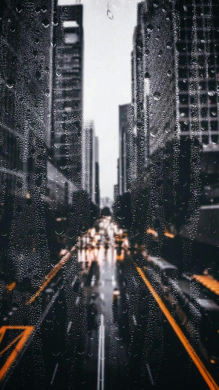 Aesthetics Rainy City Wallpapers Wallpaper Cave