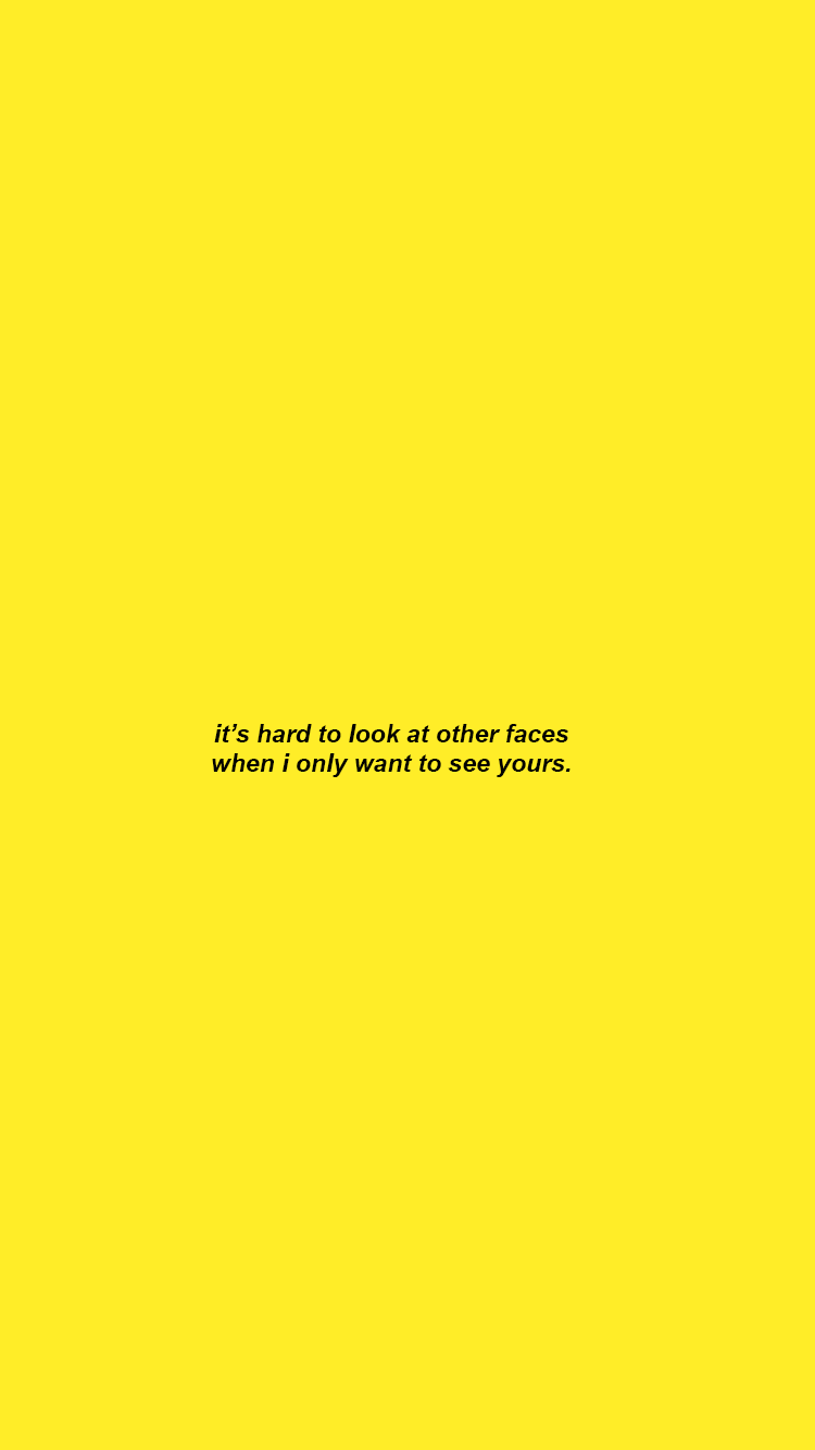 Tumblr Aesthetic Yellow Wallpapers Wallpaper Cave
