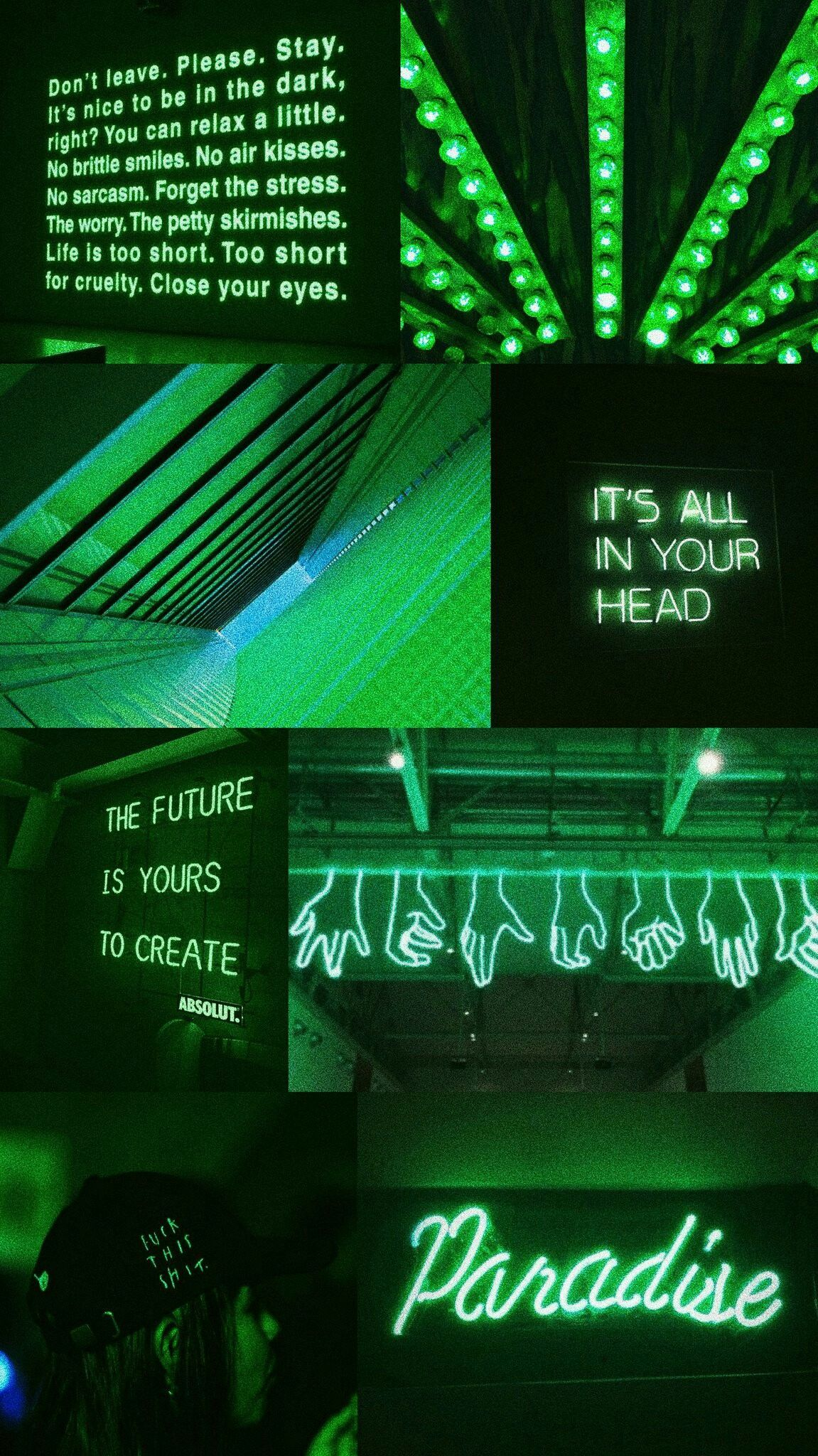 Neon Green Aesthetic Wallpapers Wallpaper Cave
