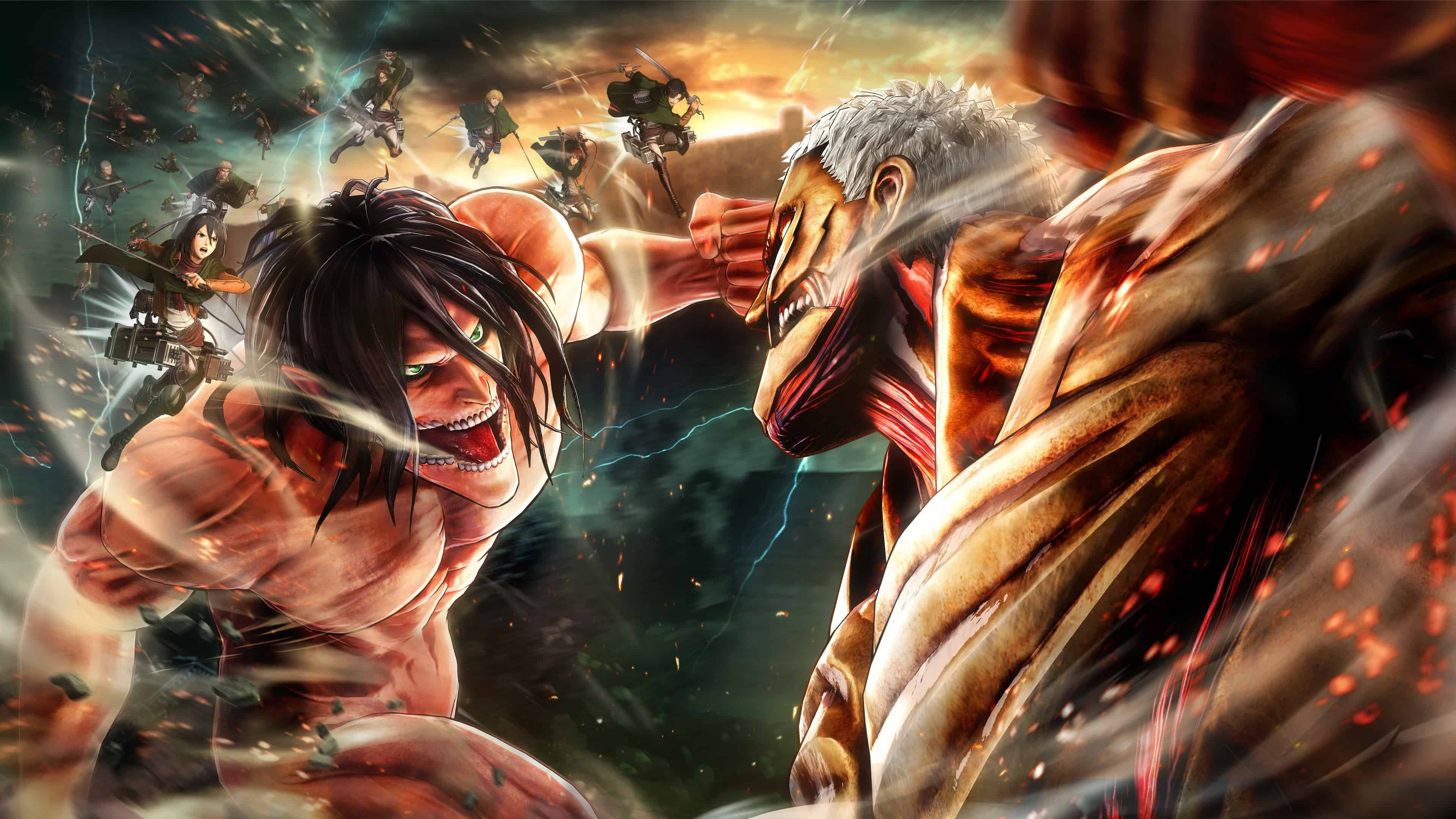 Attack On Titan 4k Wallpapers Wallpaper Cave