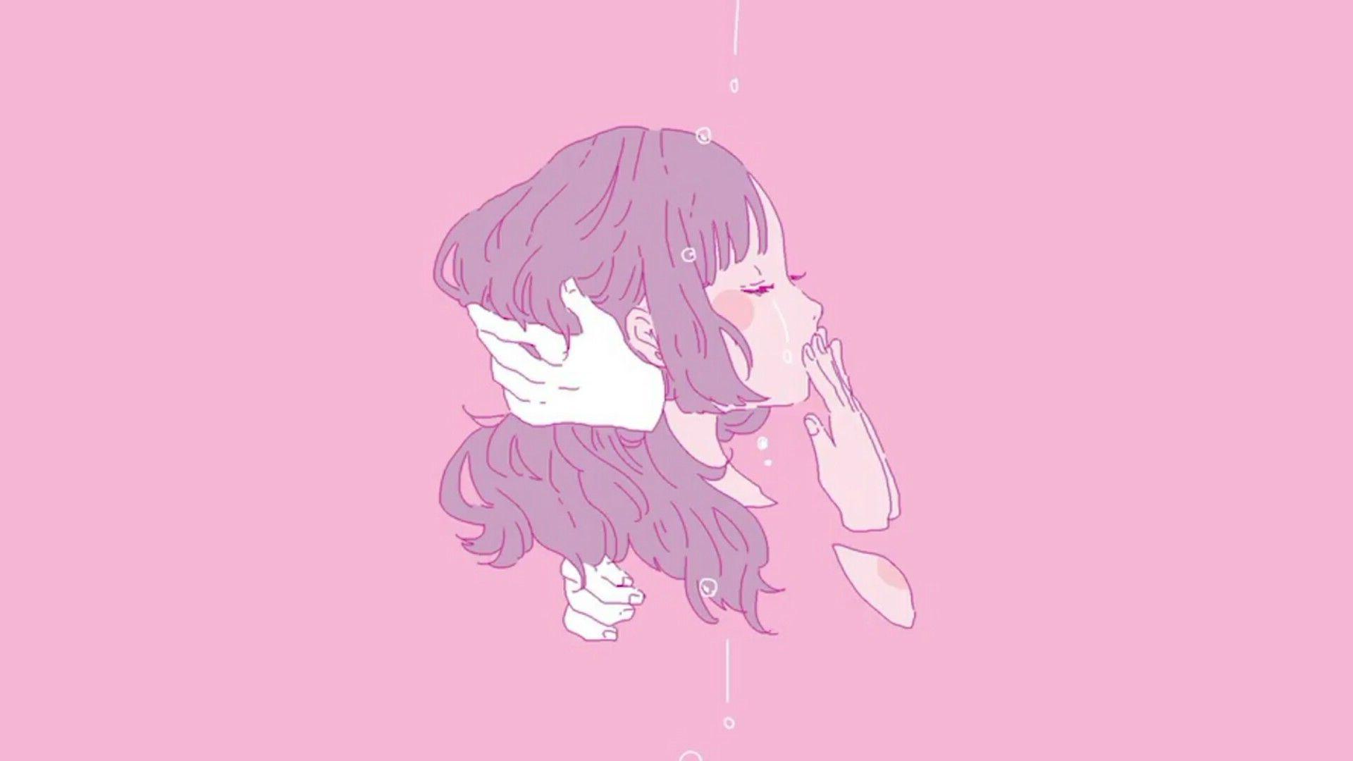 Cute Aesthetic Anime Girl Desktop Wallpapers Wallpaper Cave