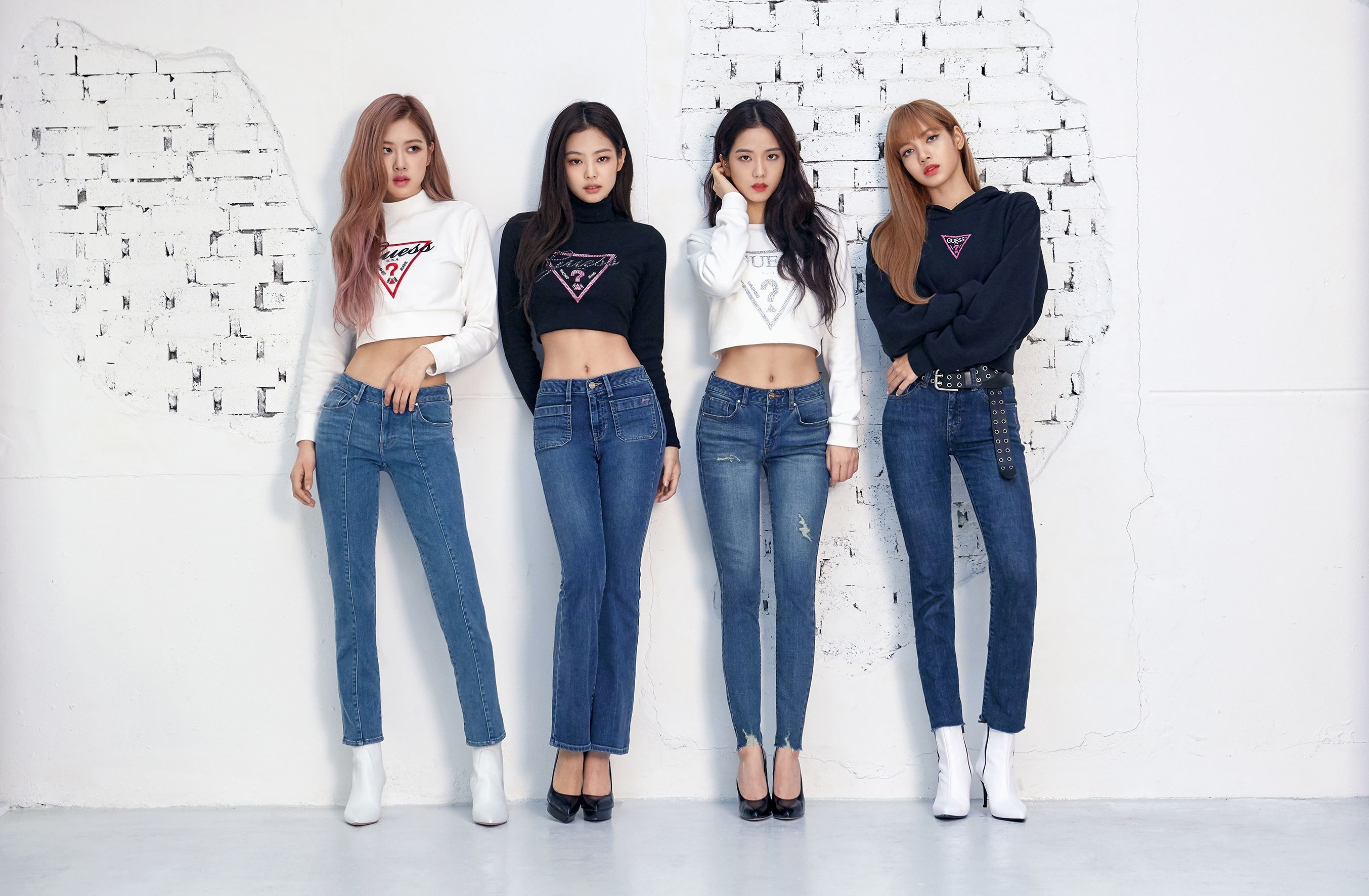 Blackpink for Guess FW 2018