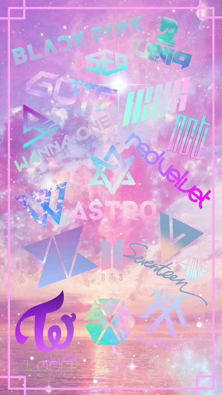 kpop wallpapers pastel exo bts blackpink twice