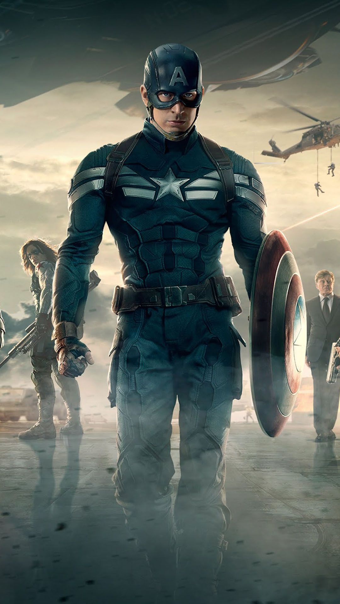 Captain America 2 The Winter Soldier Android Wallpapers