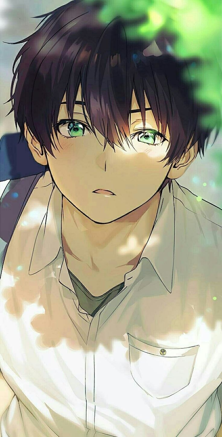 Cute Anime Boy Mobile Wallpapers Wallpaper Cave