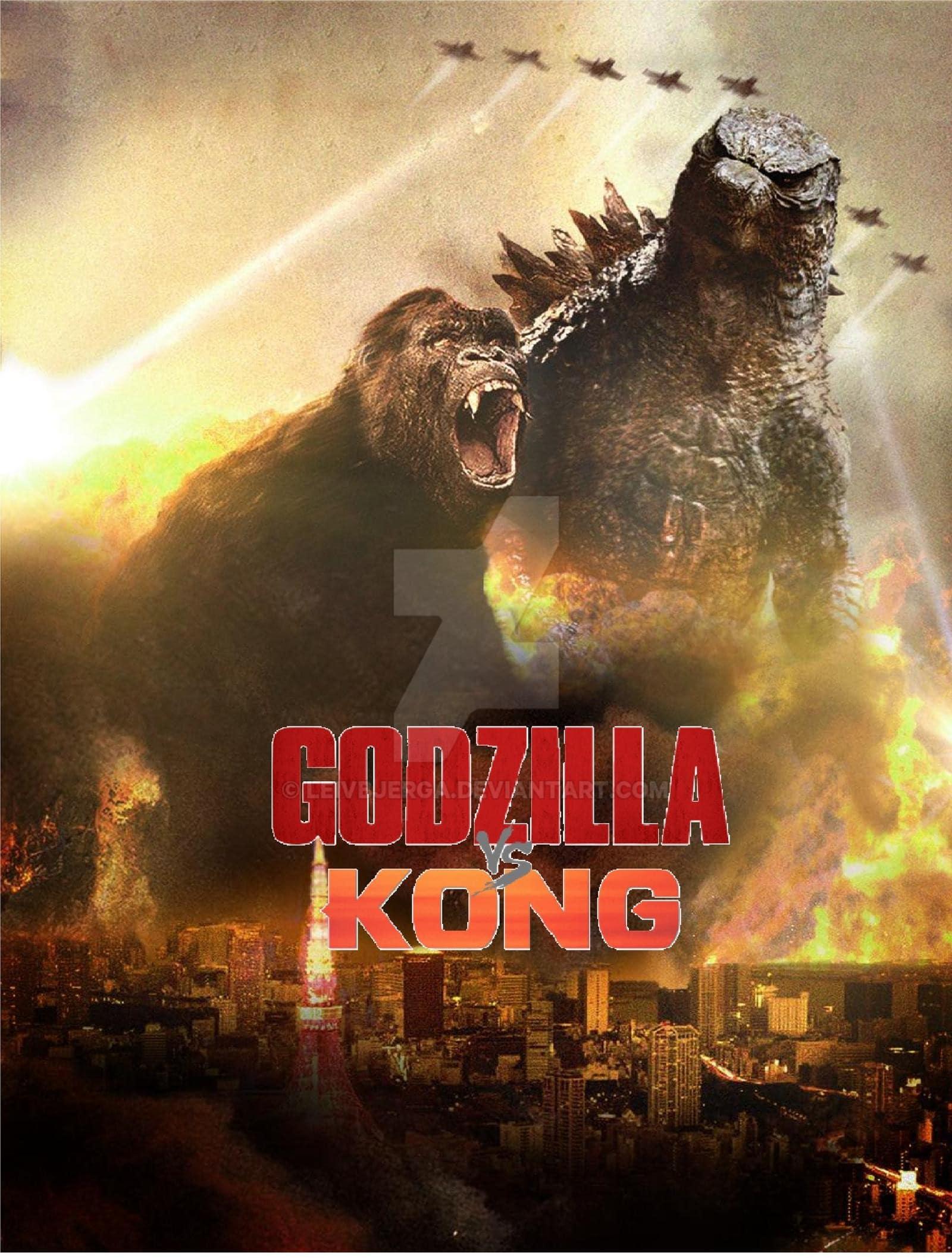 Kong Vs Godzilla Wallpapers Wallpaper Cave