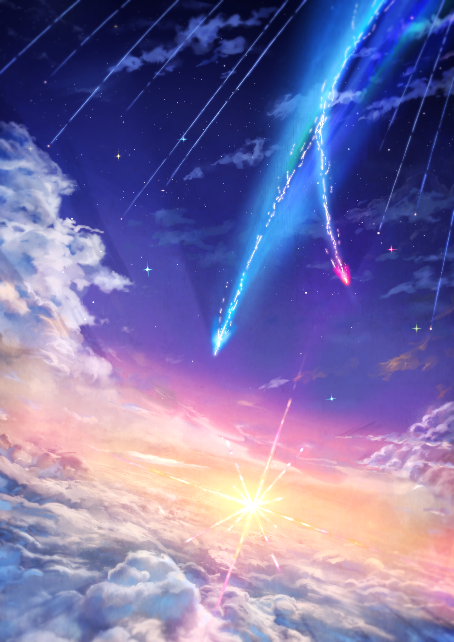 Kimi No Na Wa Phone Wallpapers Wallpaper Cave
