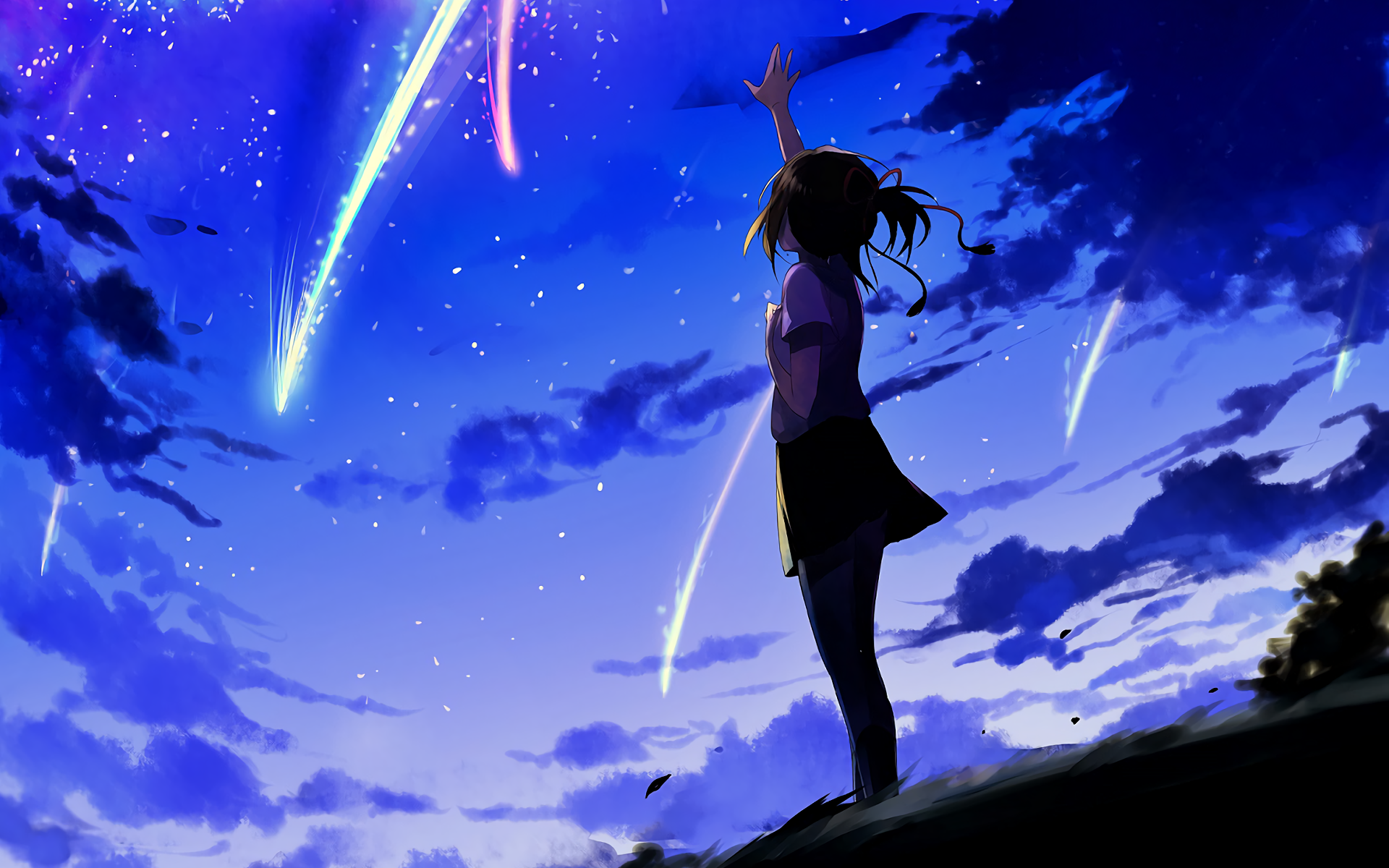 Anime Hd Kimi No Na Wa Wallpapers Wallpaper Cave