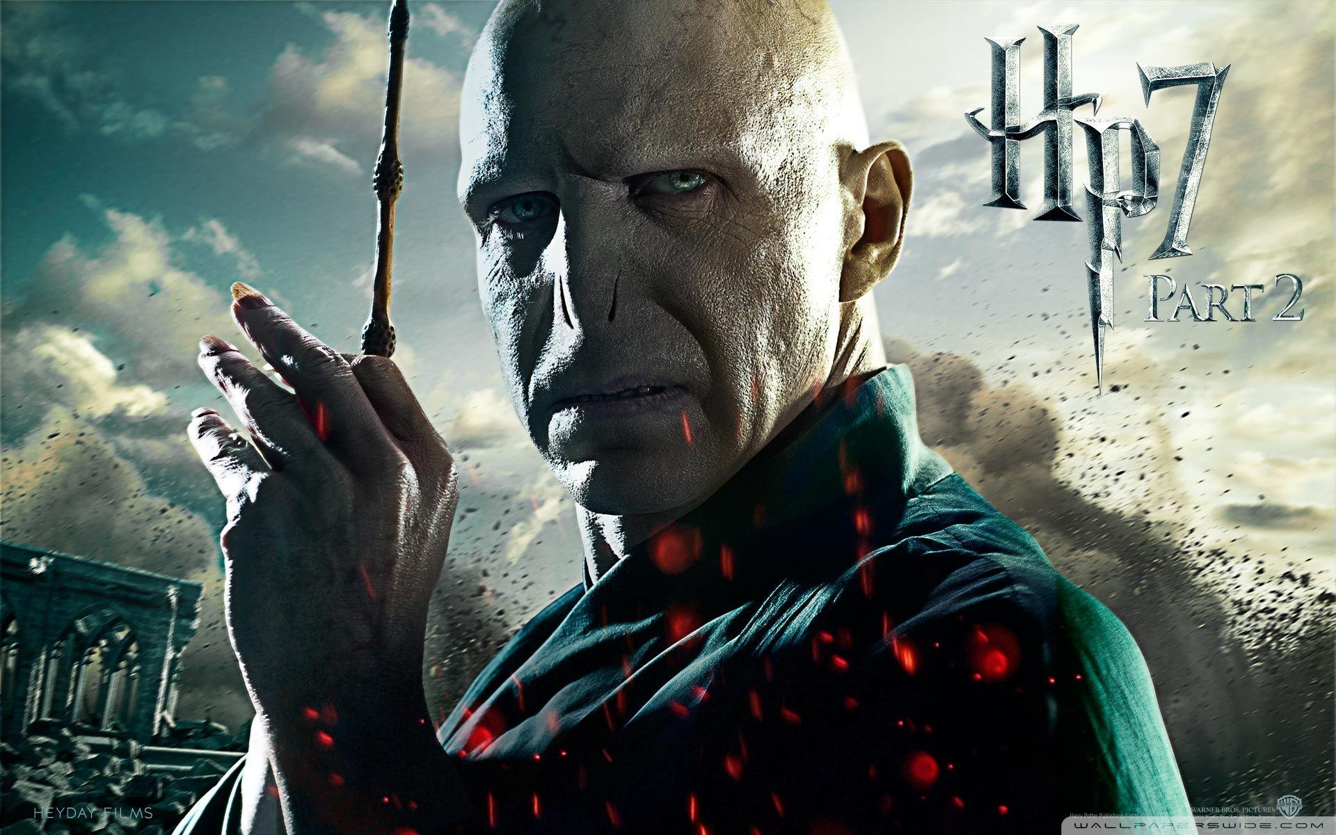 Harry Potter And Voldemort Wallpapers Wallpaper Cave