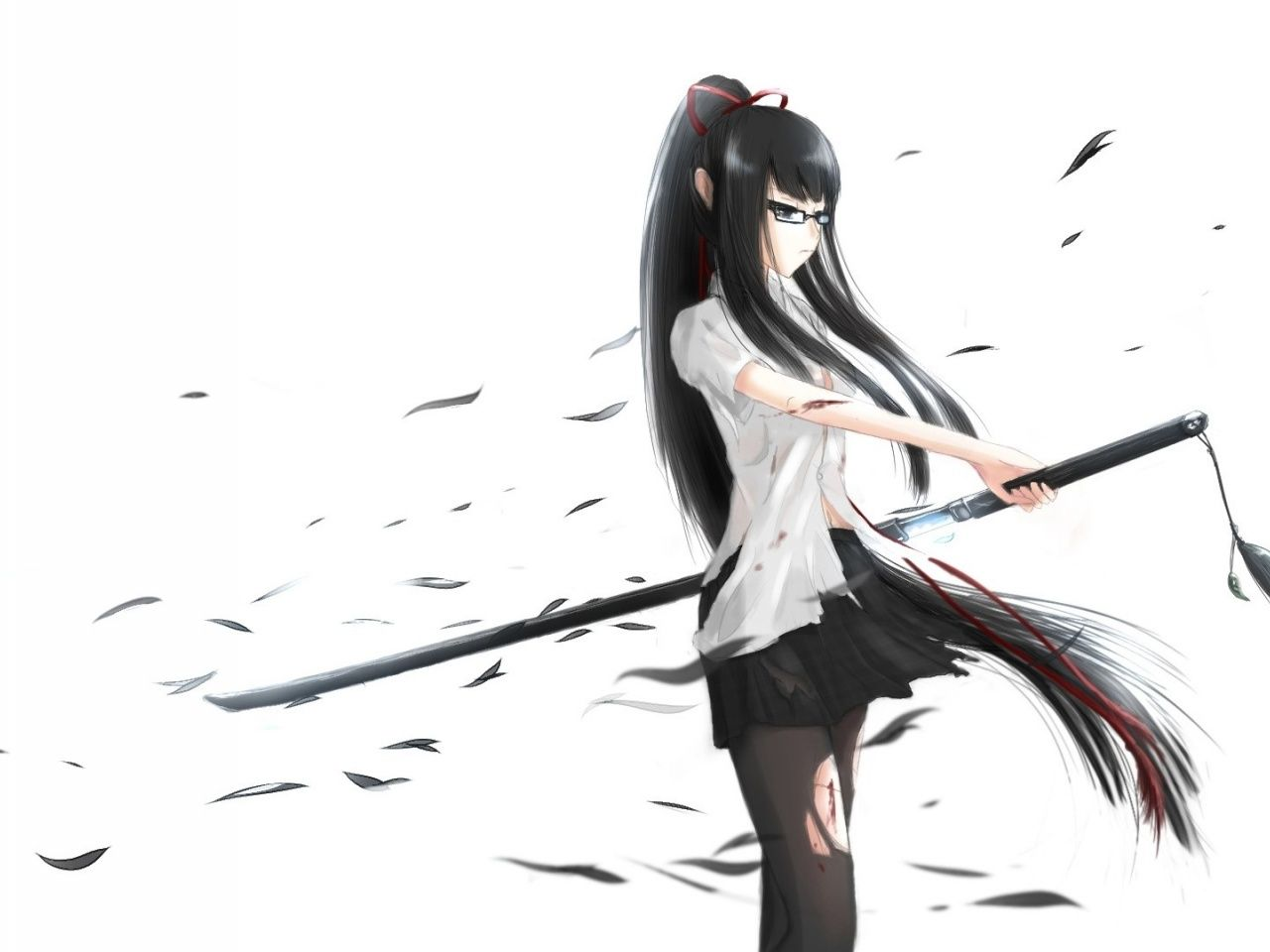 Emotionless Anime Girl Wallpapers - Wallpaper Cave
