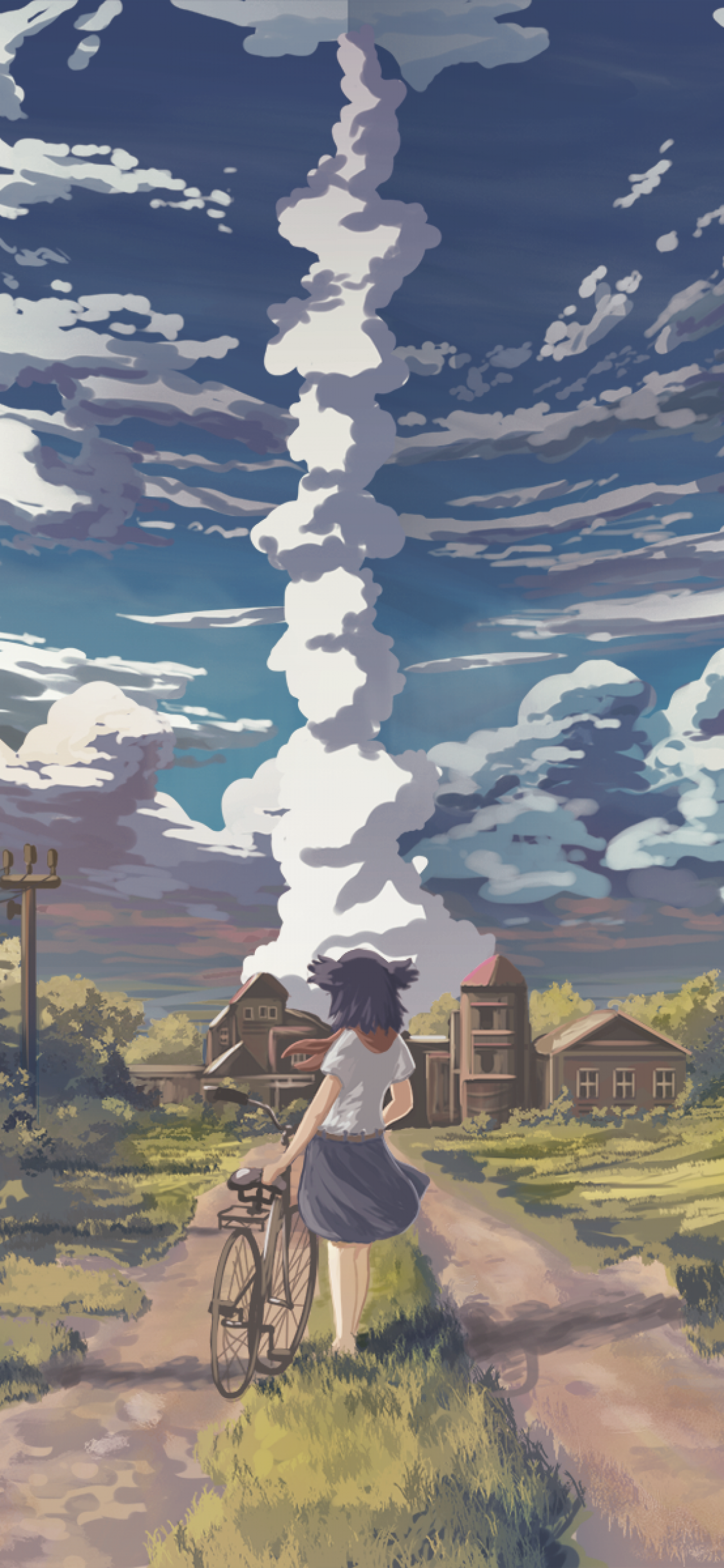 Anime Scenery iPhone X Wallpapers - Wallpaper Cave