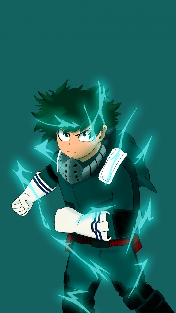Download Artwork, Izuku Midoriya, Boku no Hero Academia, anime