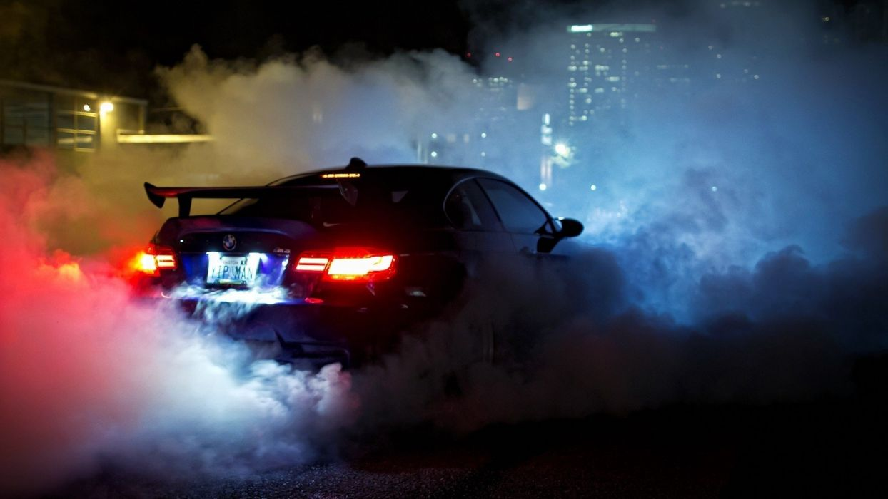 Smoke With Car Wallpapers Wallpaper Cave