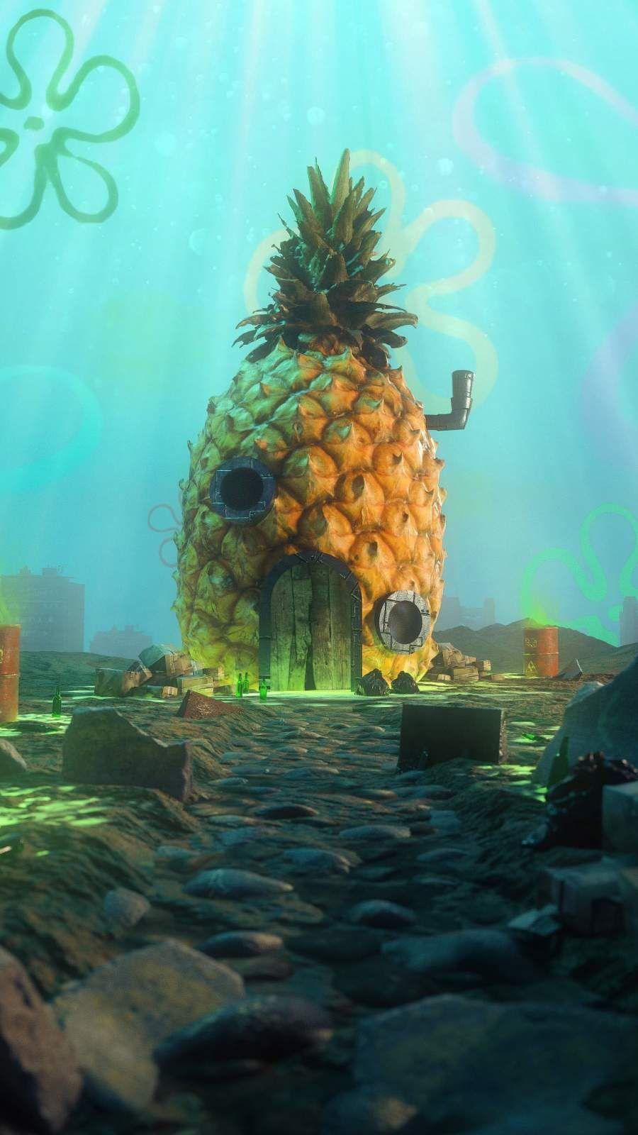 Spongebob Pineapple Wallpapers - Wallpaper Cave