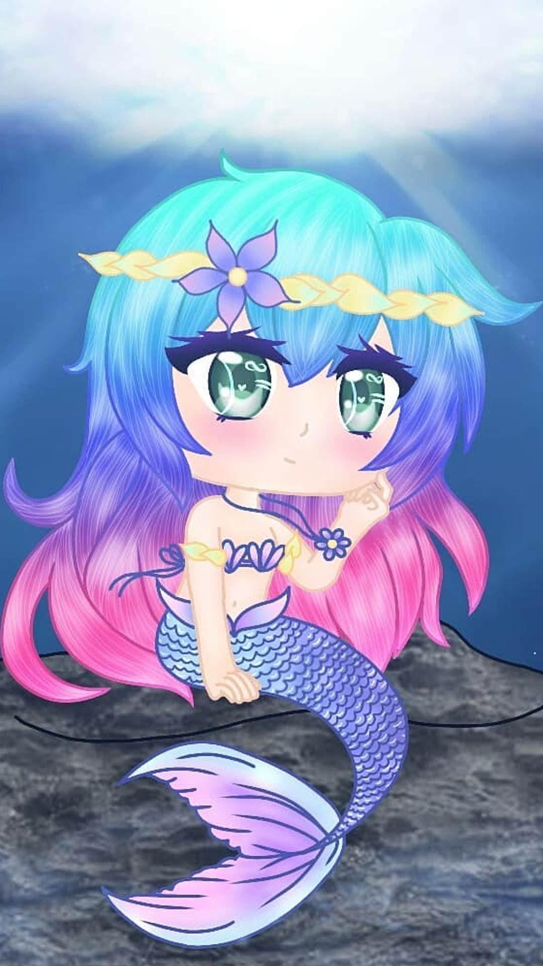 Gacha Life Mermaid Wallpapers - Wallpaper Cave