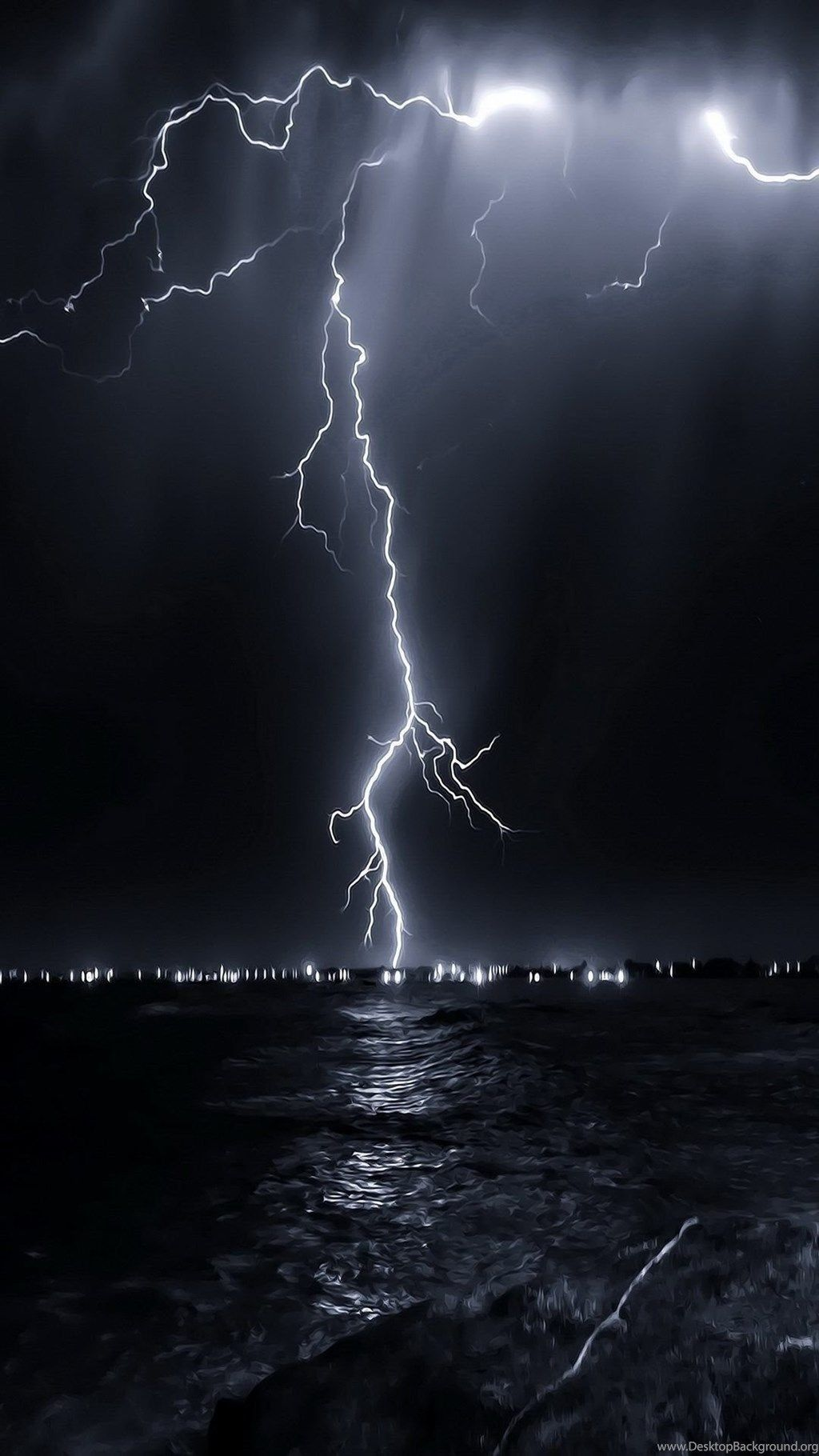 Aesthetic Lightning Wallpapers Wallpaper Cave