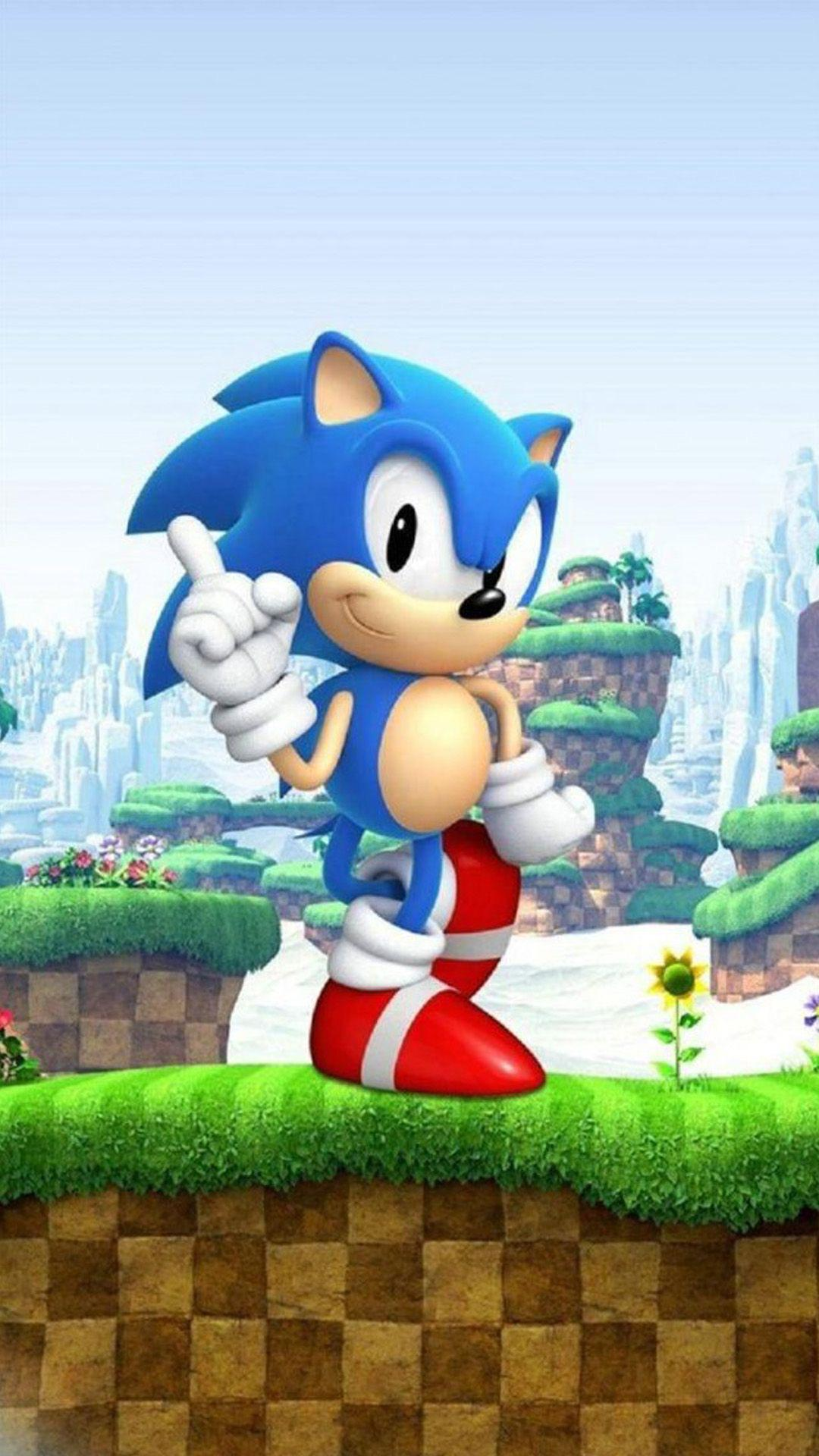 Sonic The Hedgehog Iphone Wallpapers Wallpaper Cave