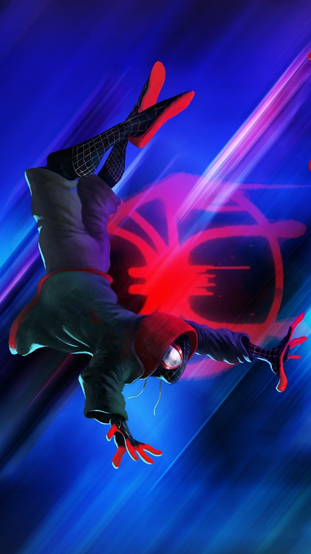 Spider Man Verse Amoled Wallpapers - Wallpaper Cave