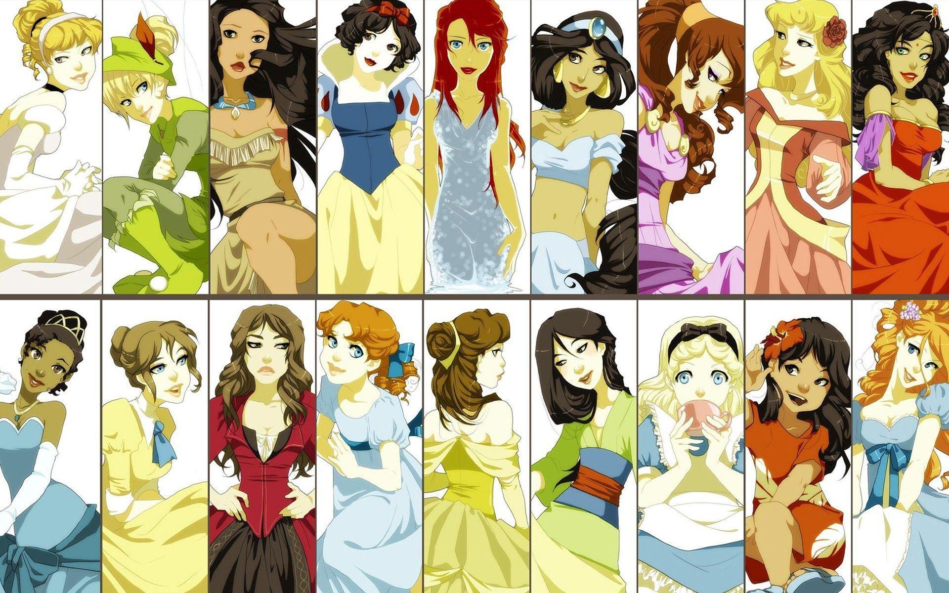 Disney Princess Belle Anime Wallpapers - Wallpaper Cave